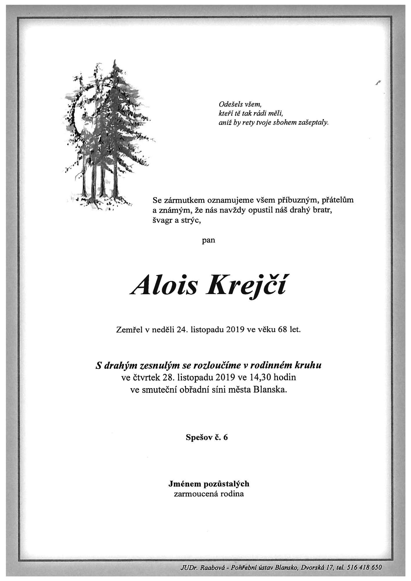 Alois Krejčí