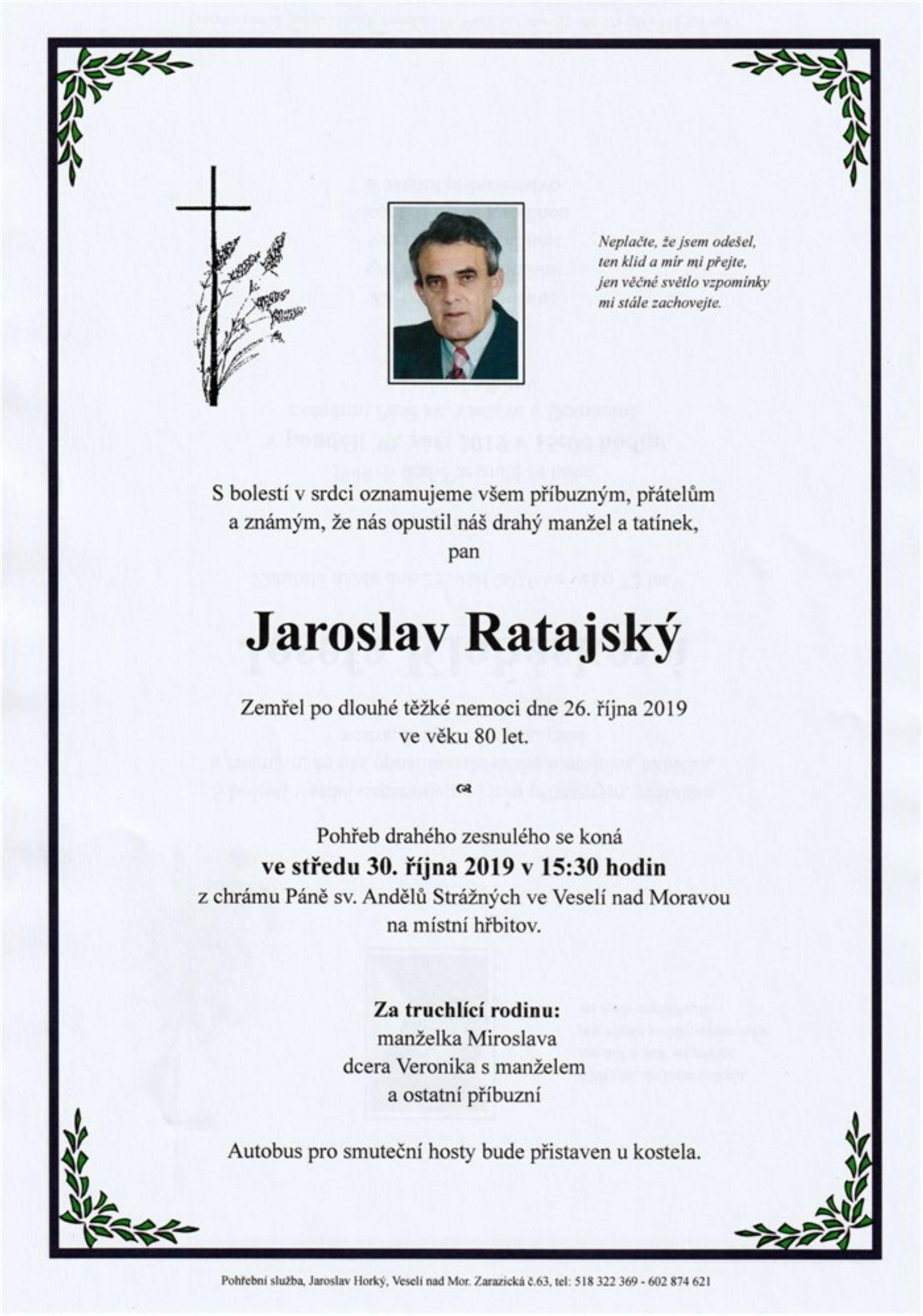 Jaroslav Ratajský