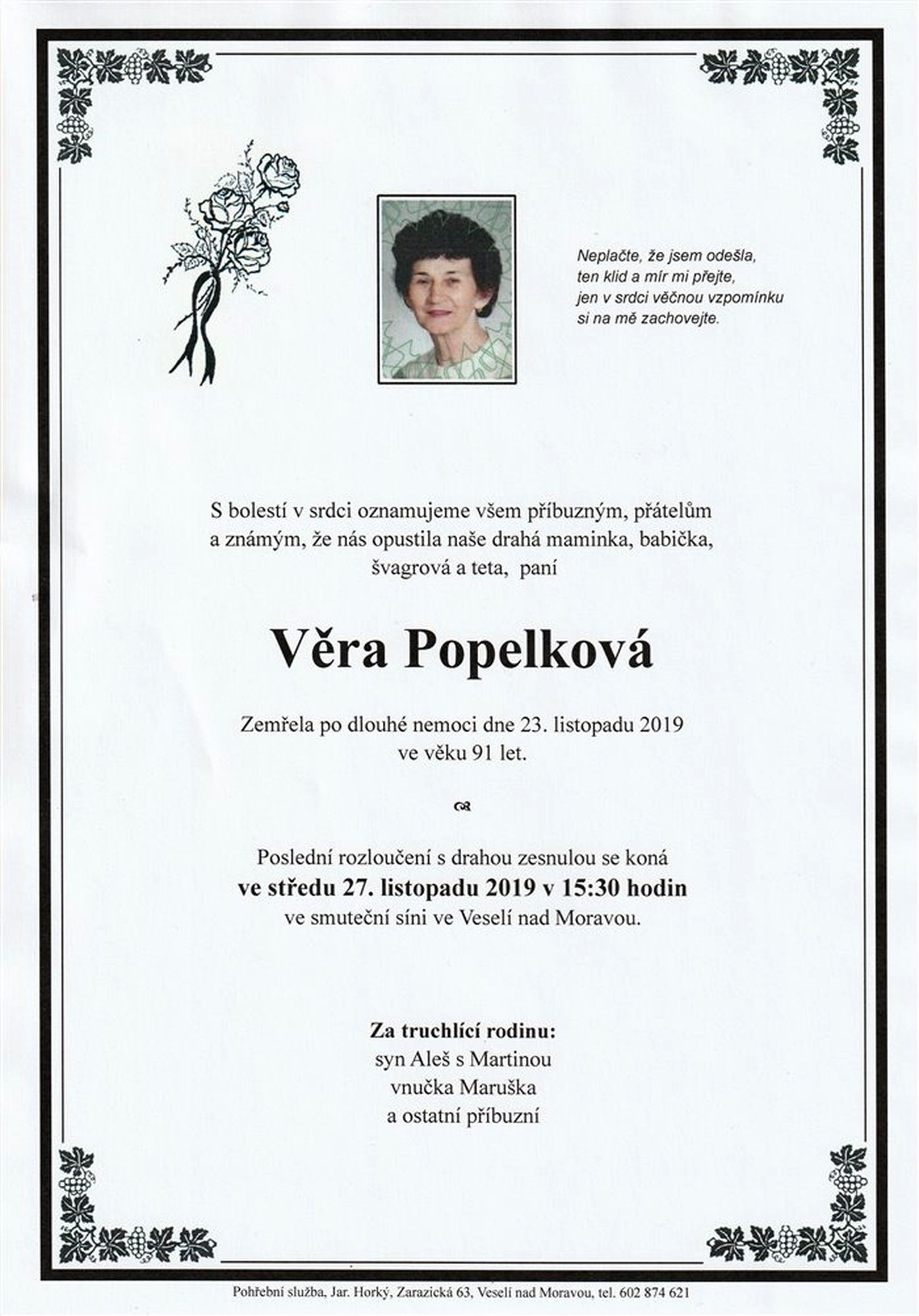 Věra Popelková