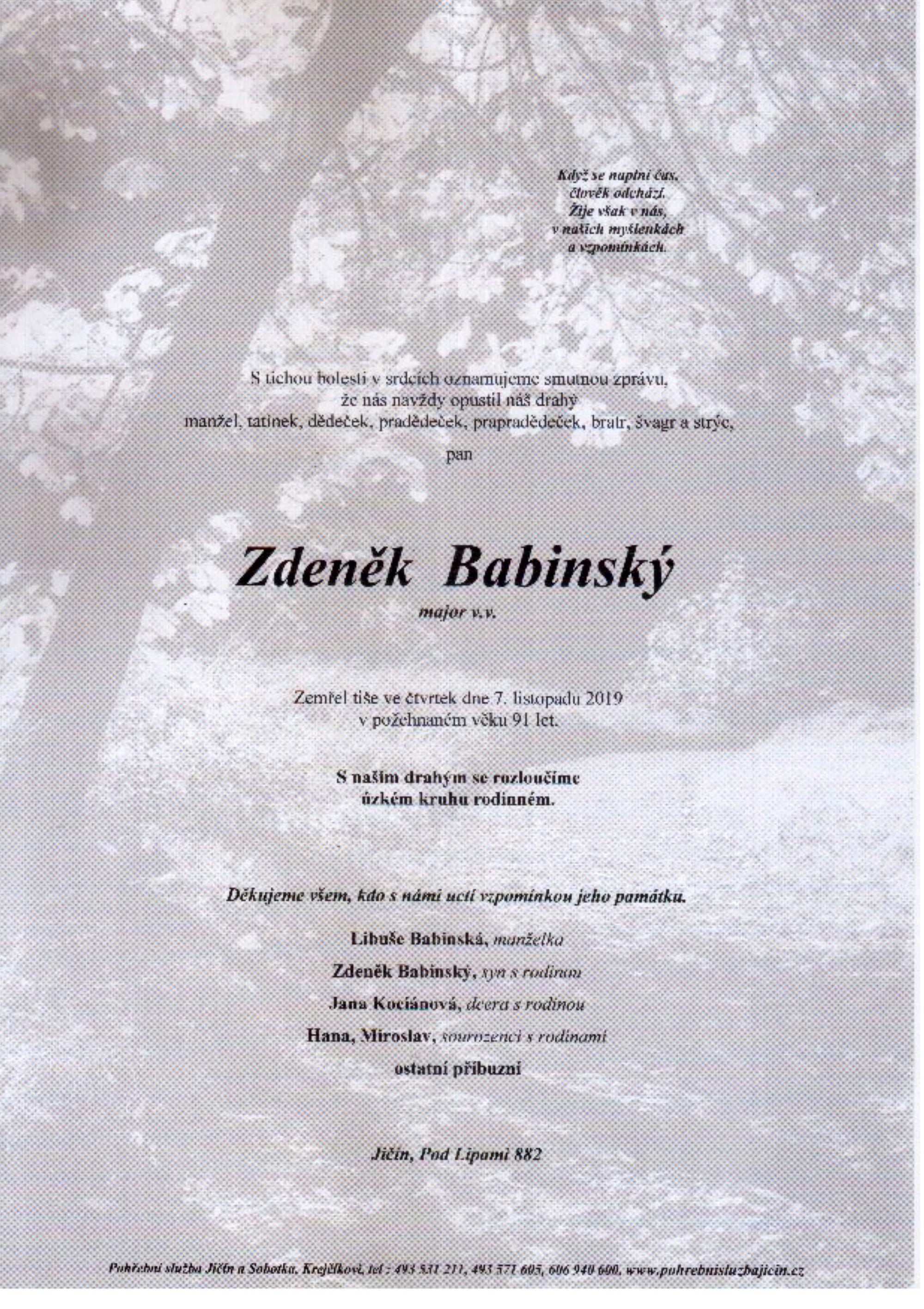 Zdeněk Babinský