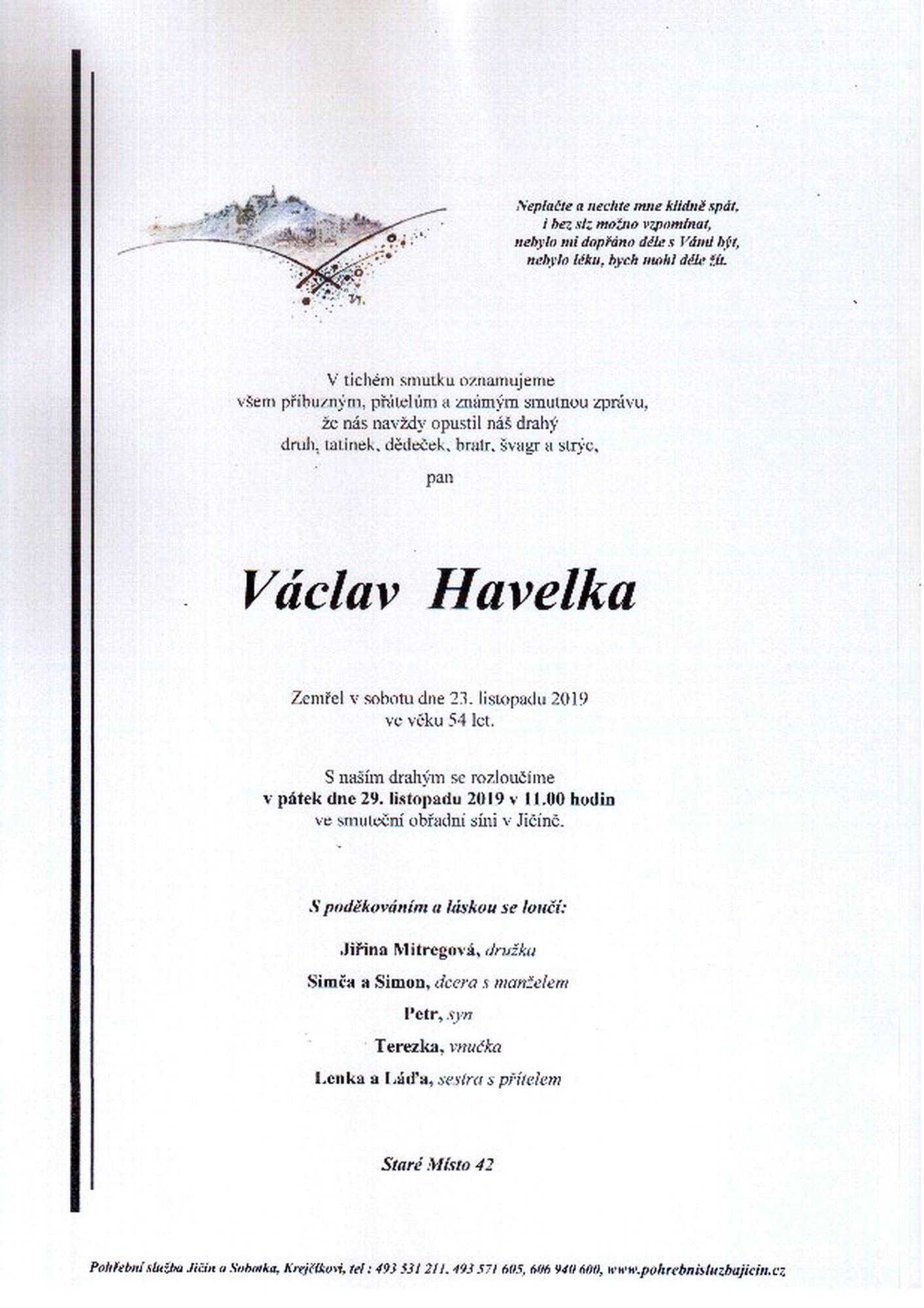 Václav Havelka