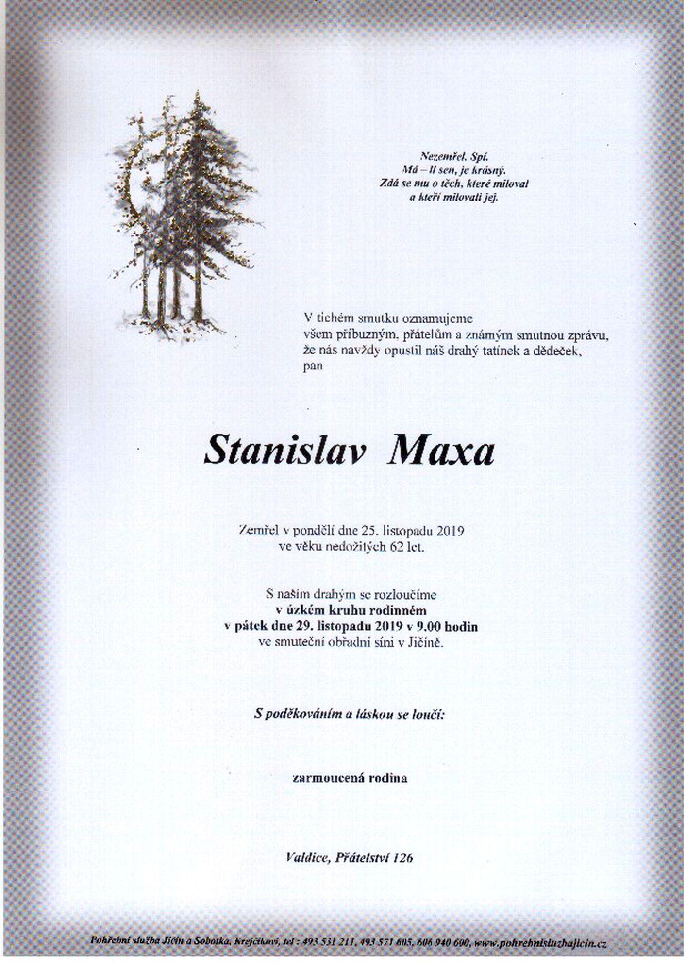 Stanislav Maxa