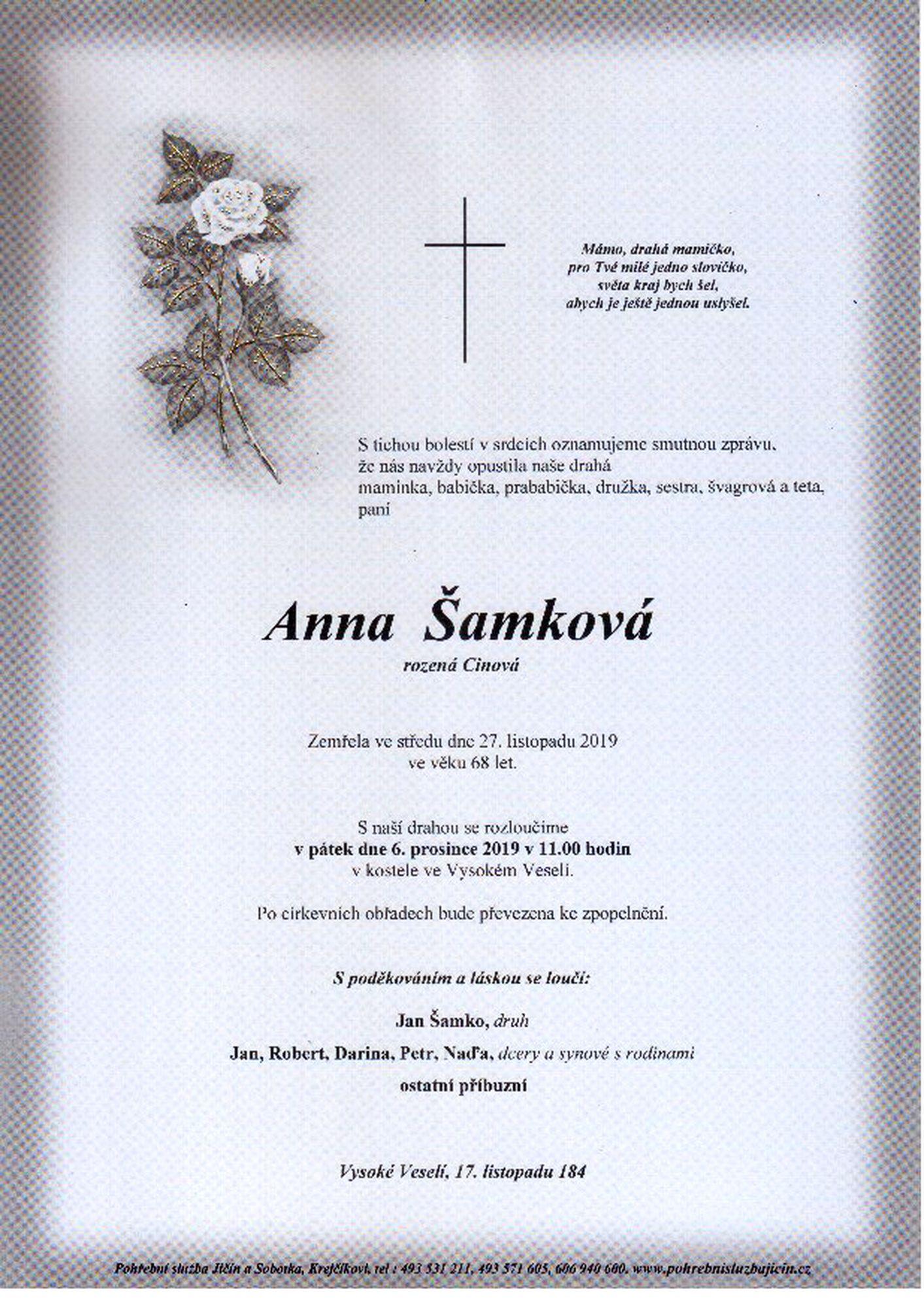 Anna Šamková