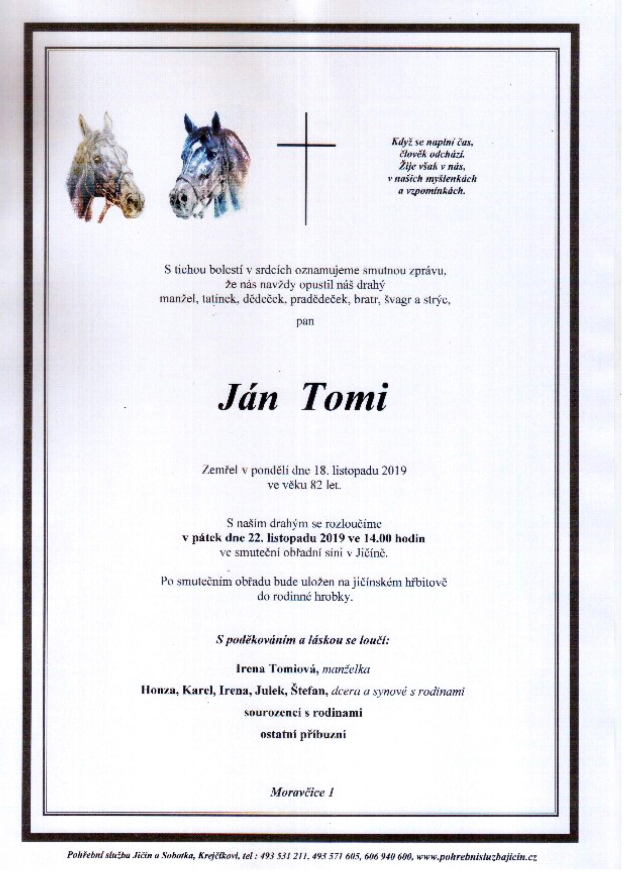 Ján Tomi