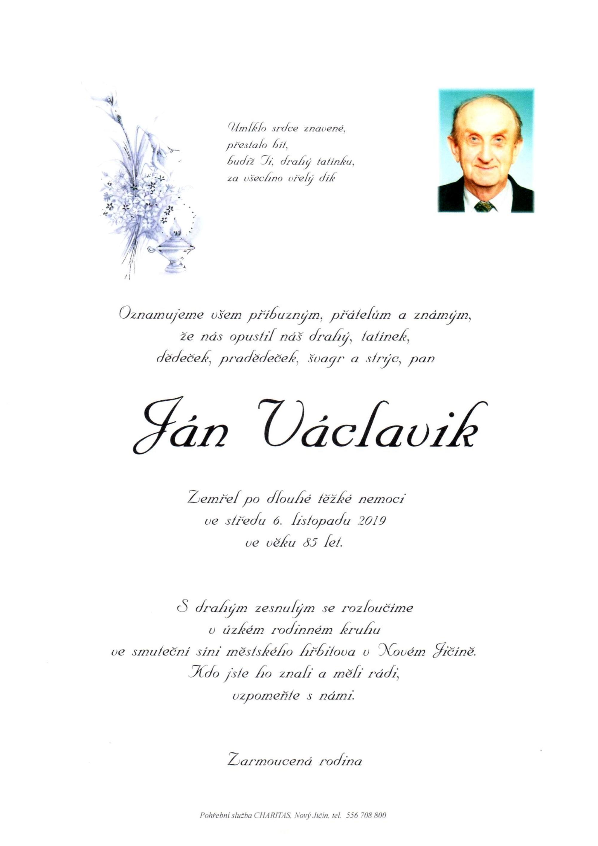 Ján Václavik