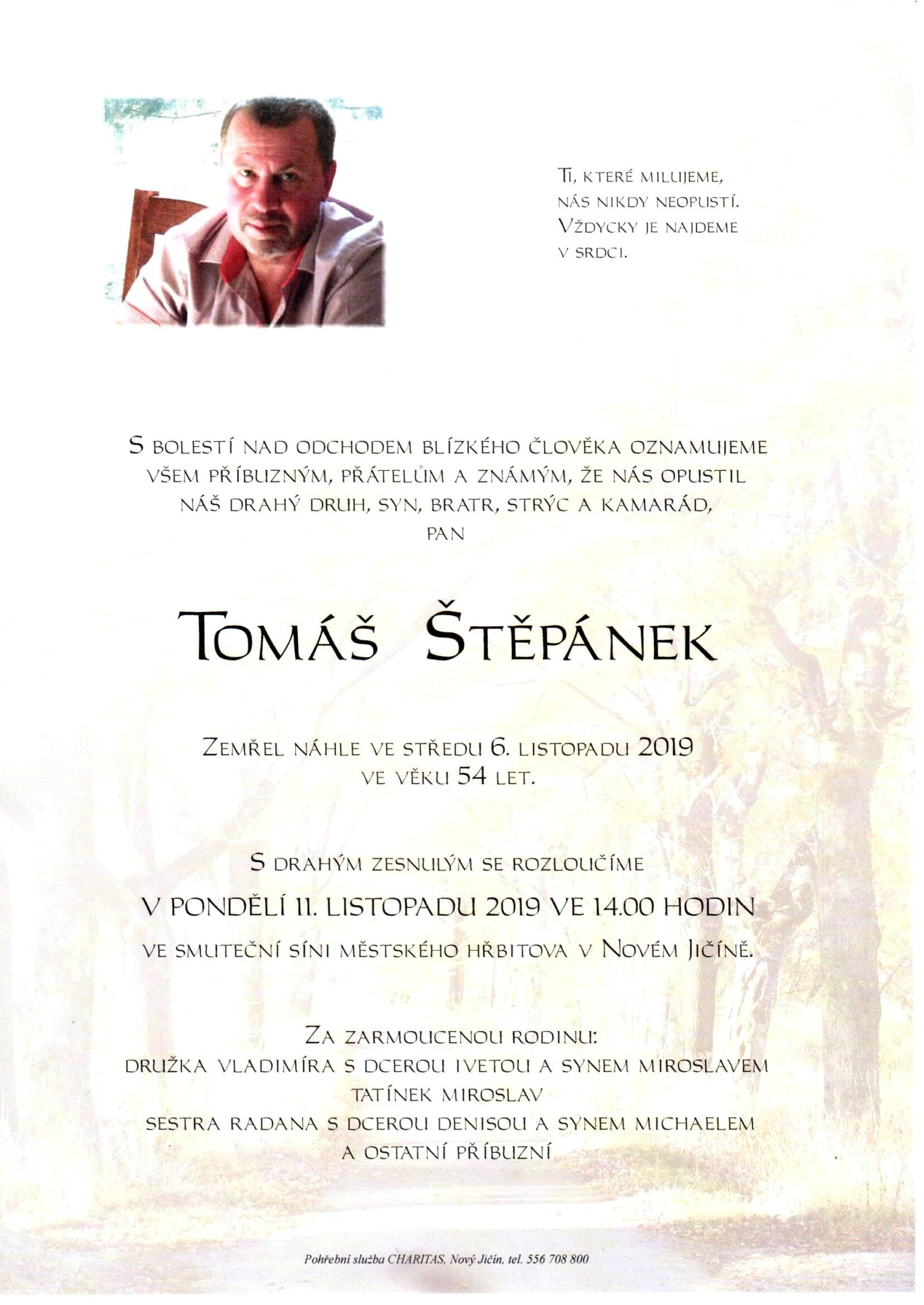 Tomáš Štěpánek