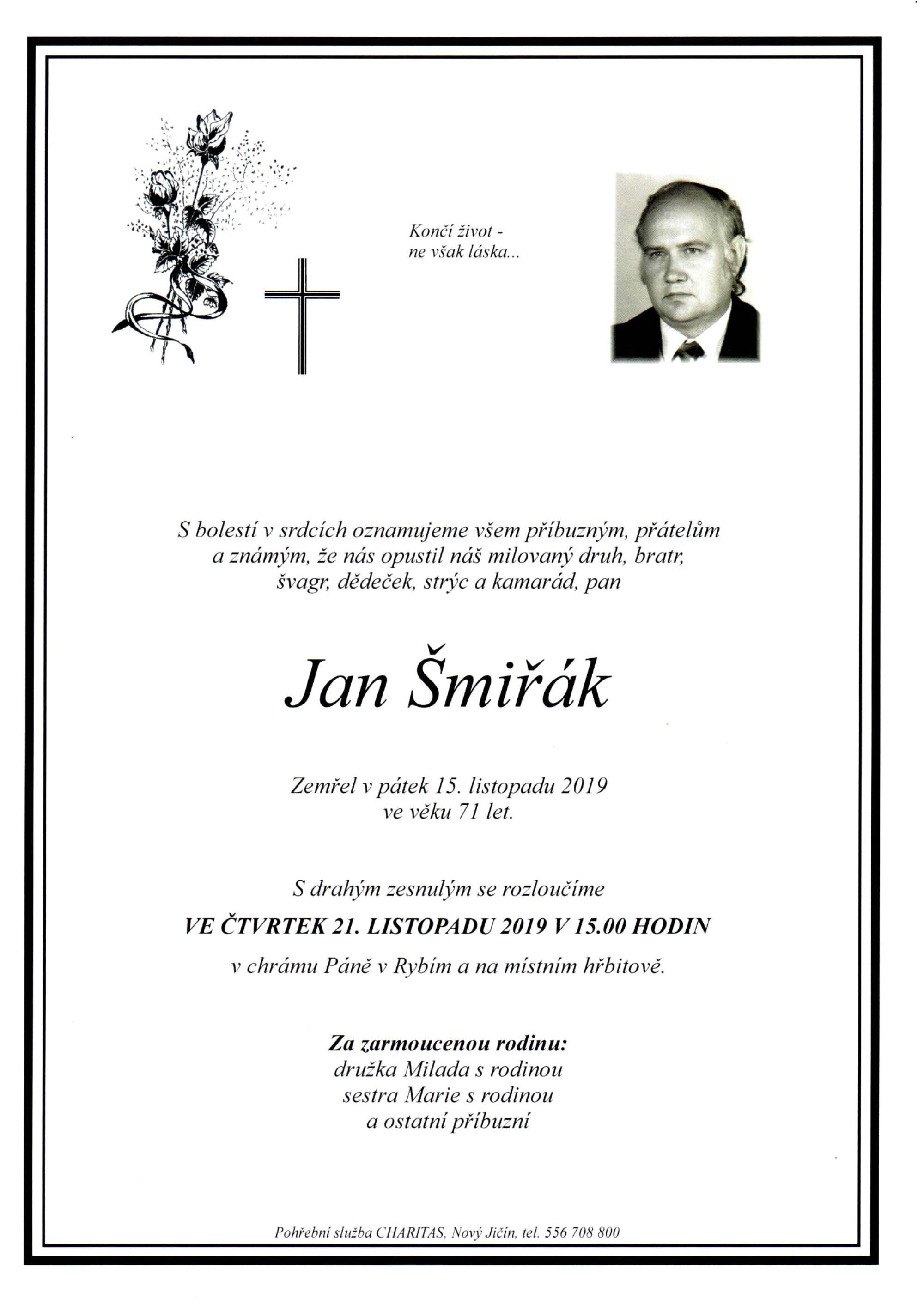 Jan Šmiřák