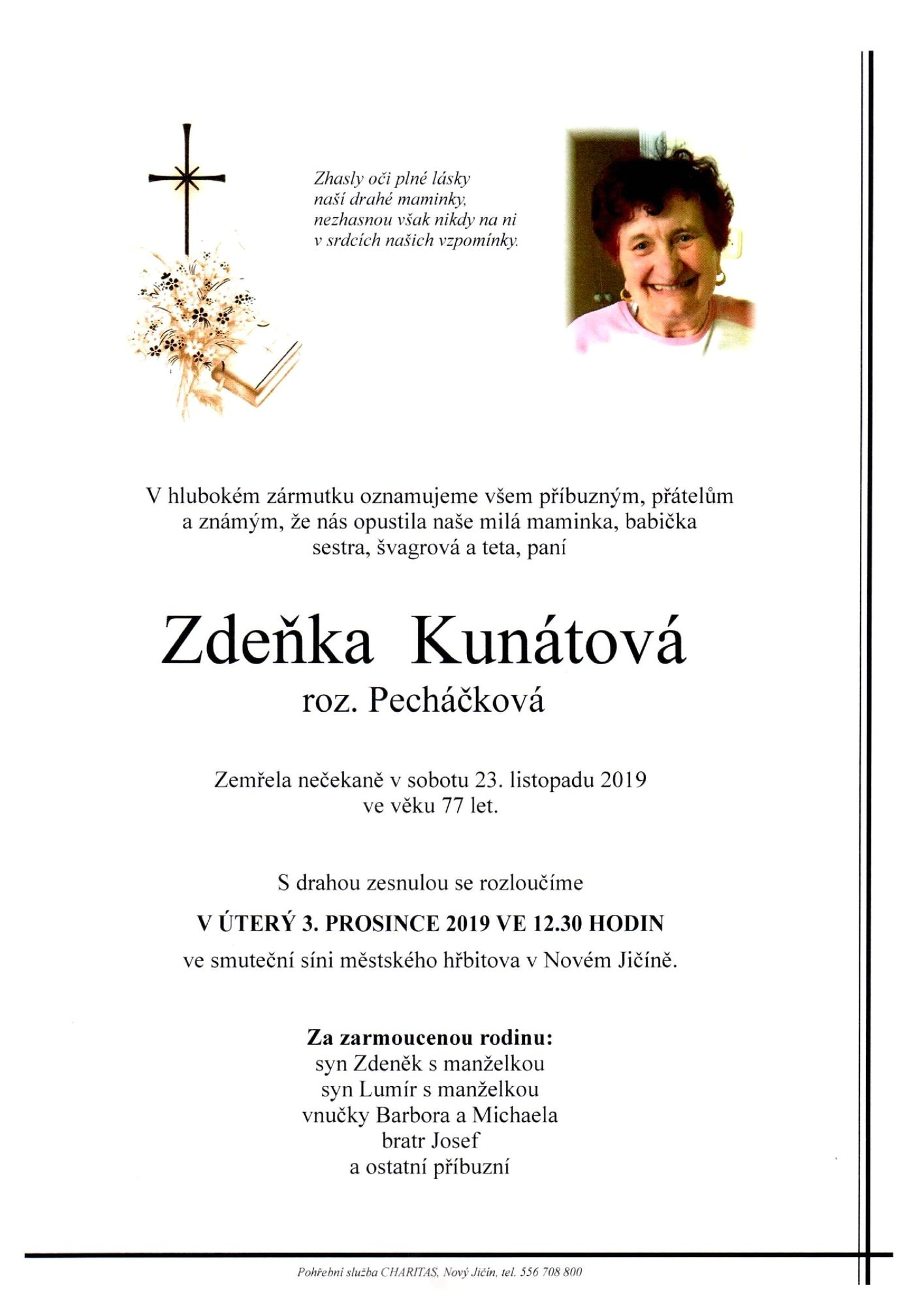 Zdeňka Kunátová