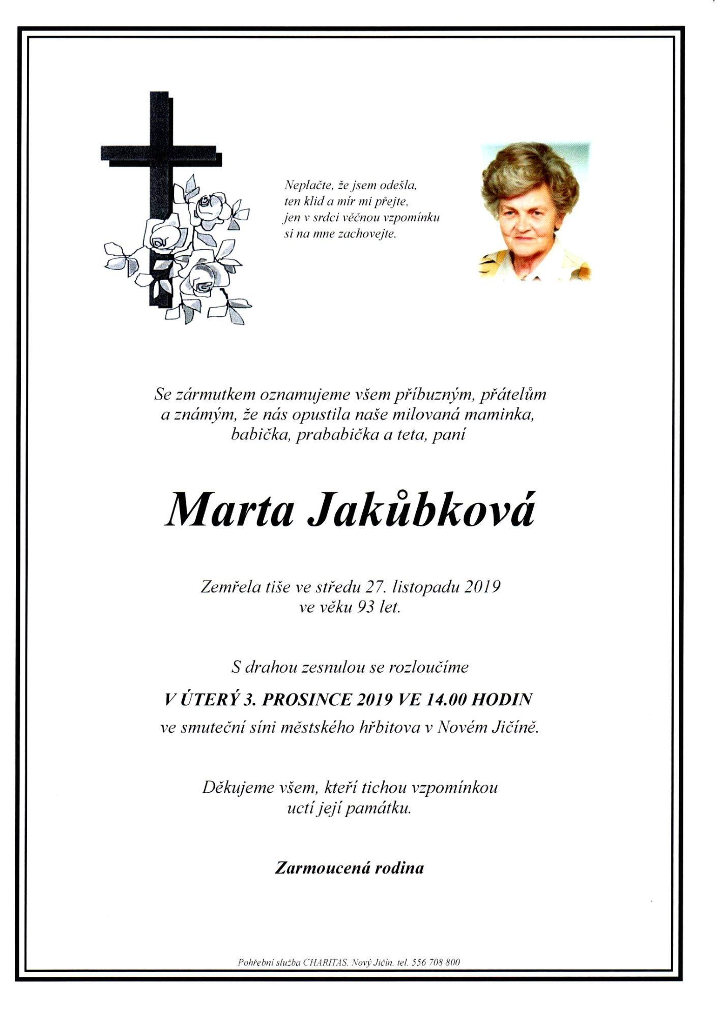 Marta Jakůbková