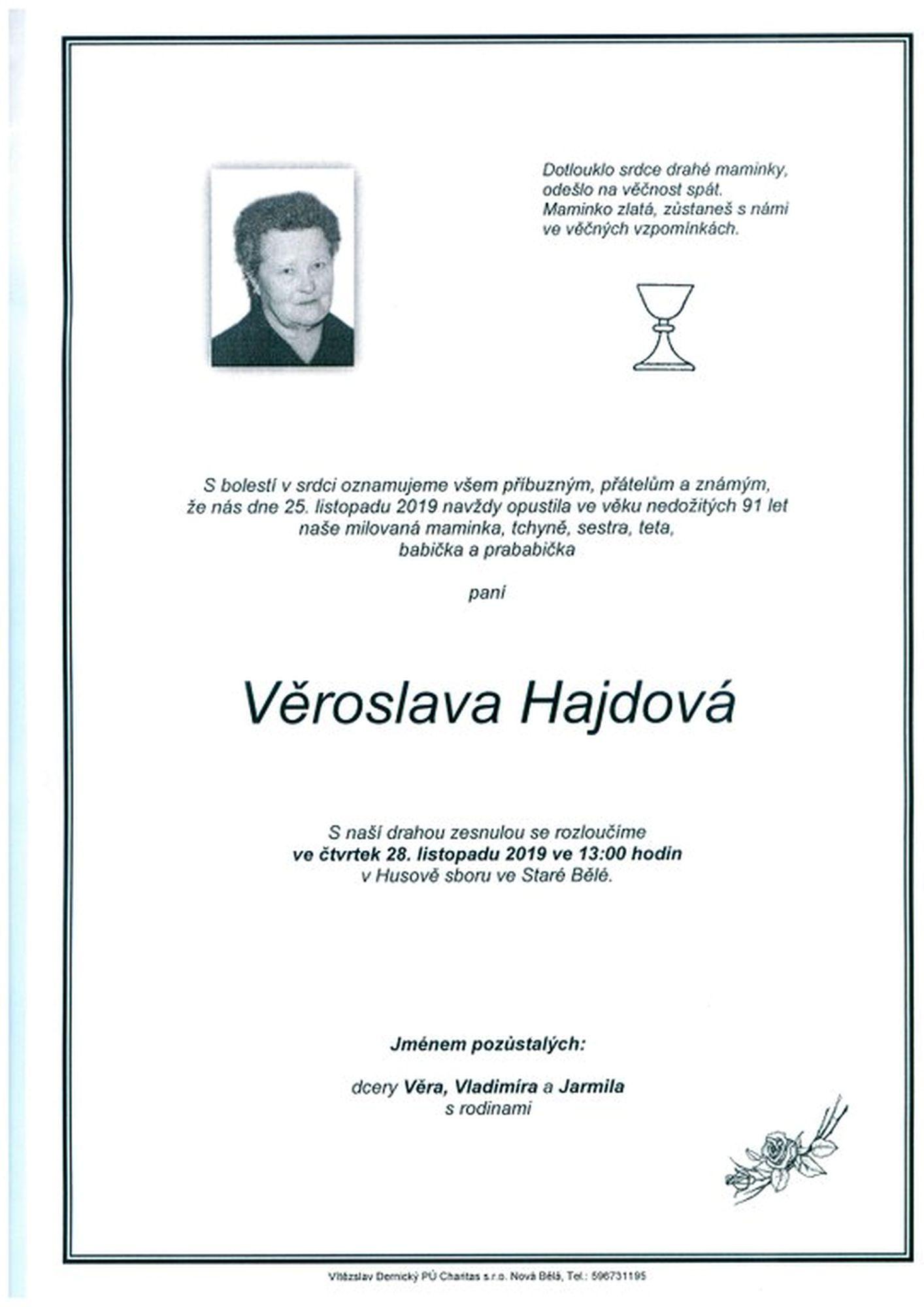 Věroslava Hajdová