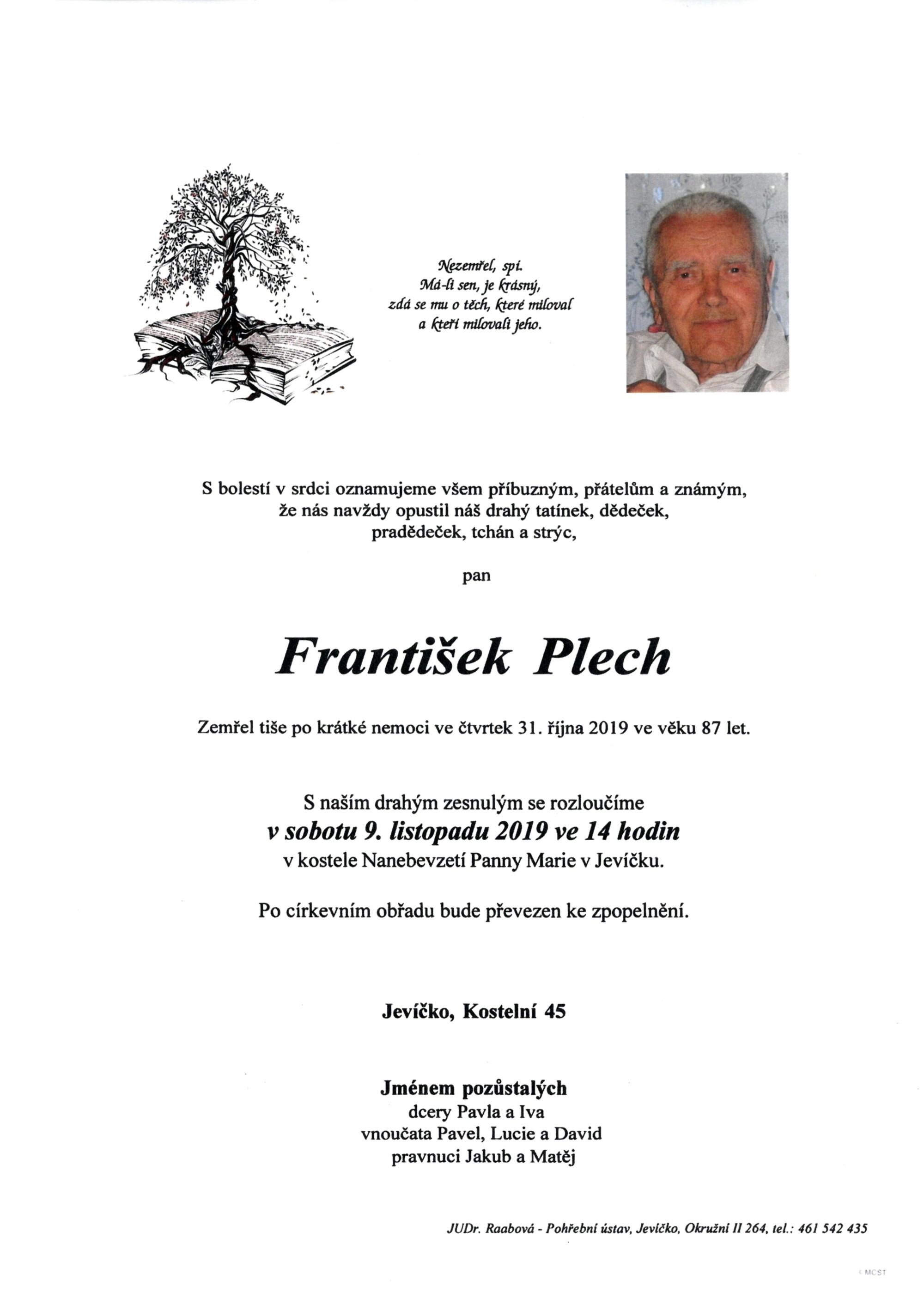 František Plech