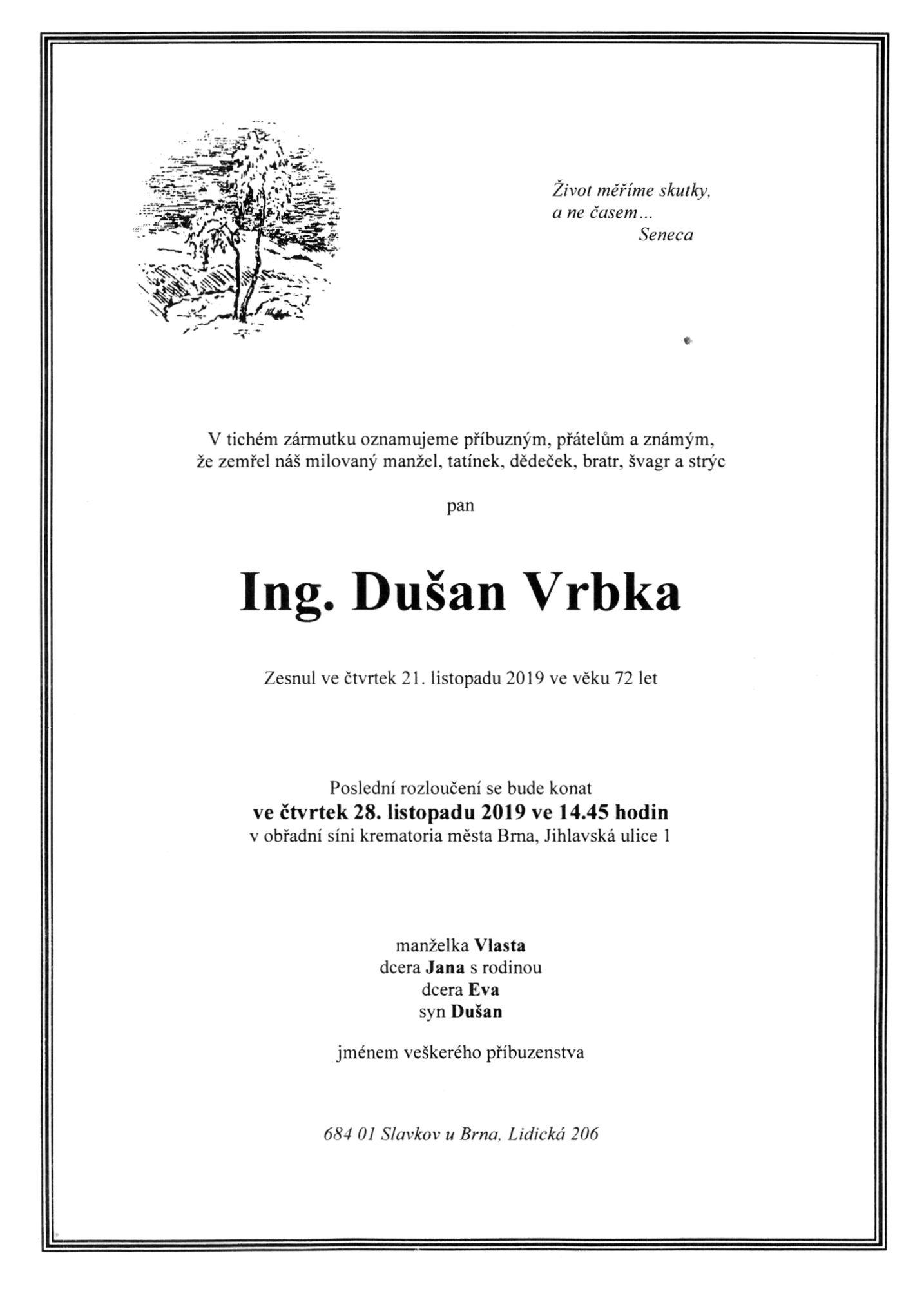 Ing. Dušan Vrbka