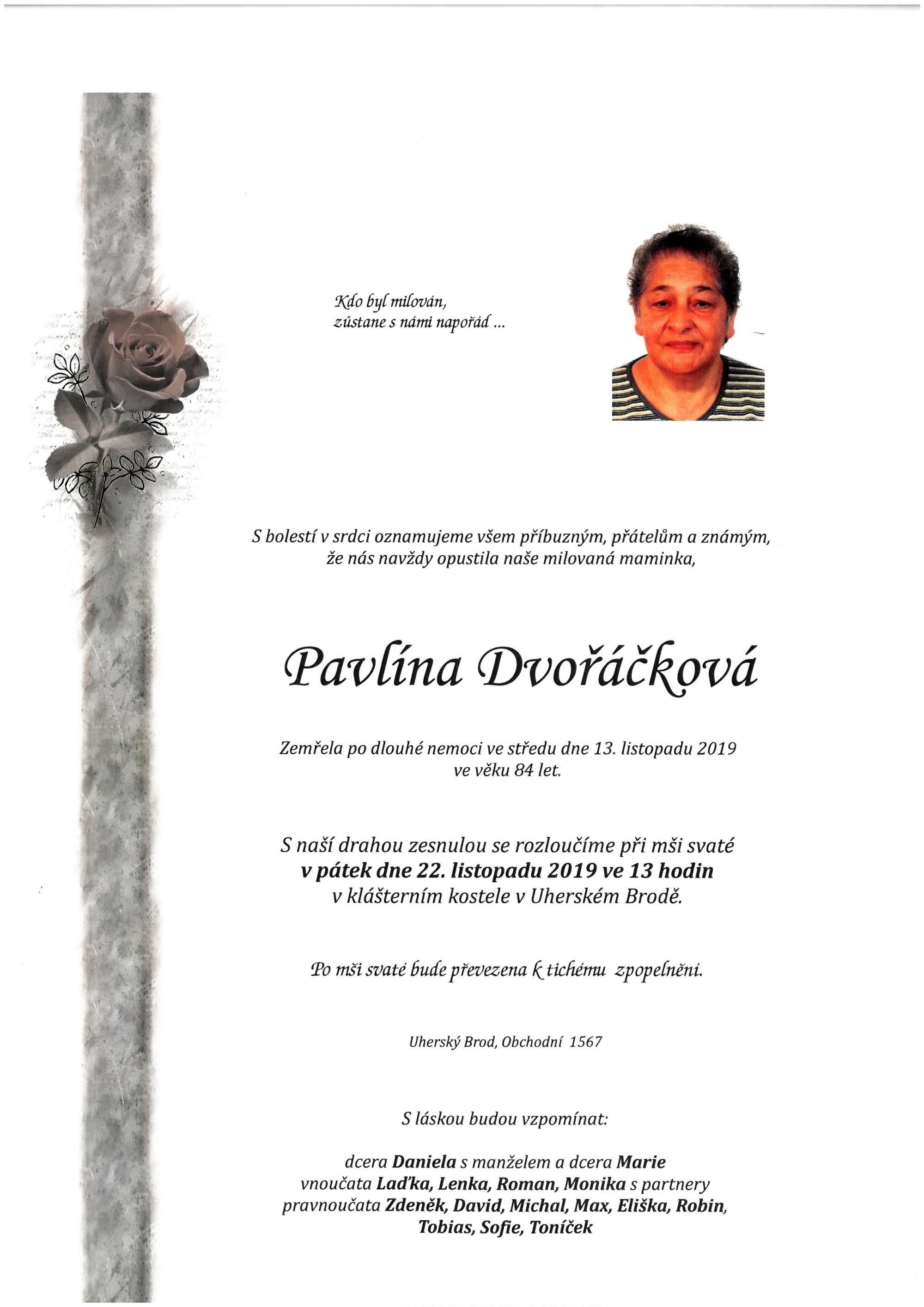Pavlína Dvořáčková