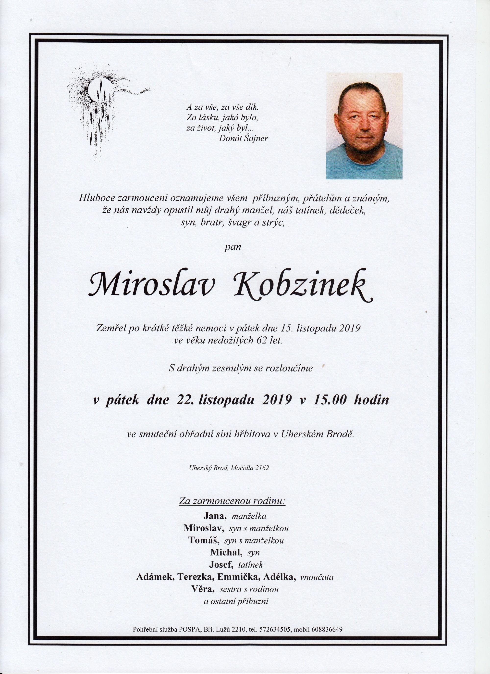 Miroslav Kobzinek