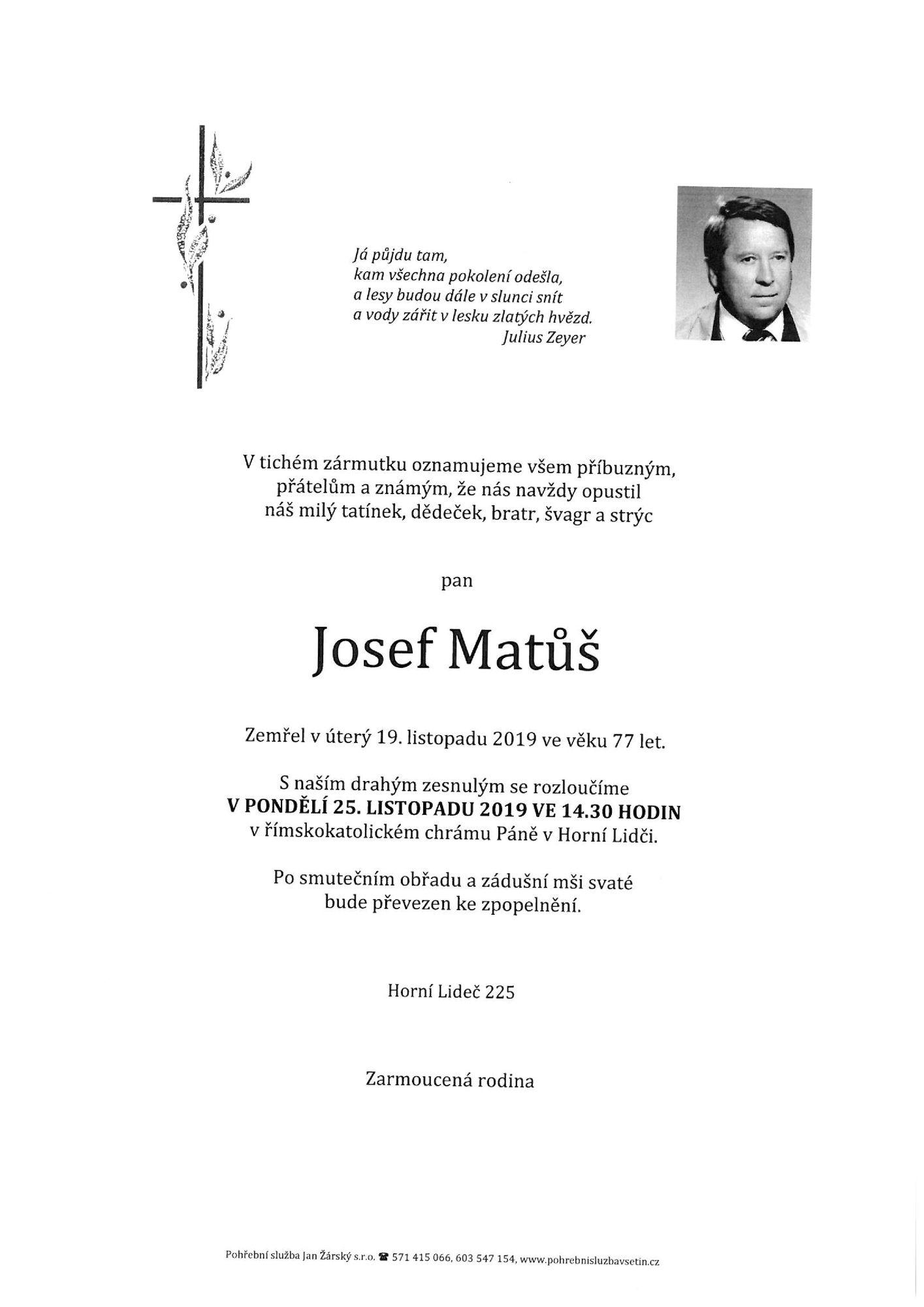 Josef Matůš