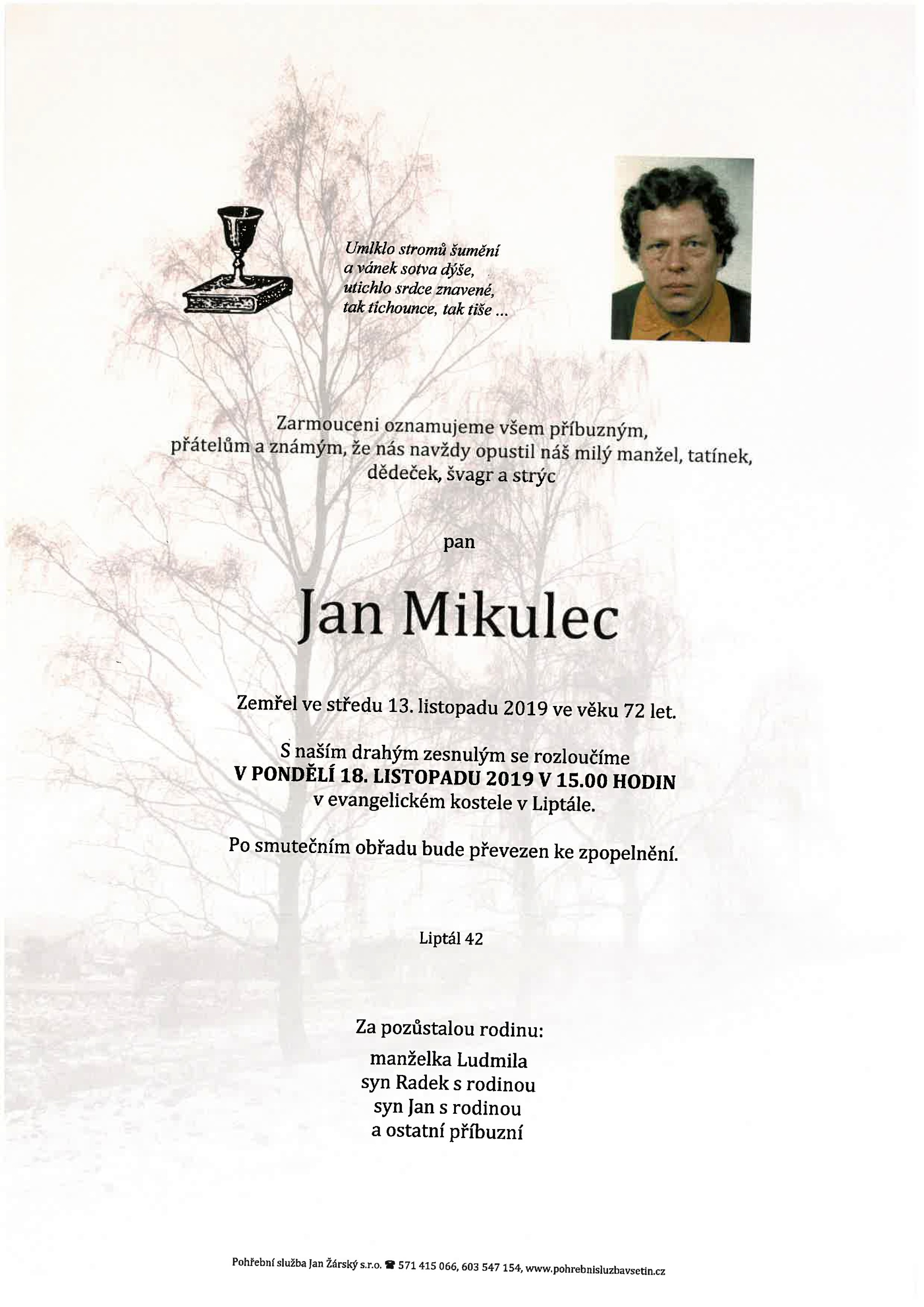 Jan Mikulec