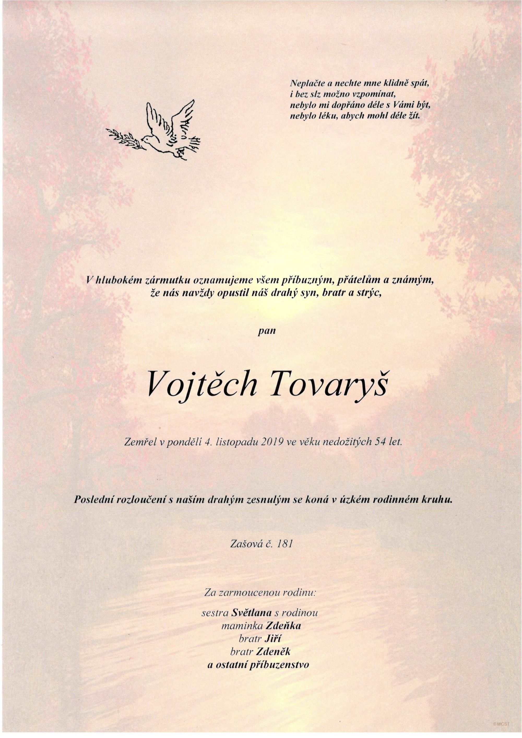 Vojtěch Tovaryš