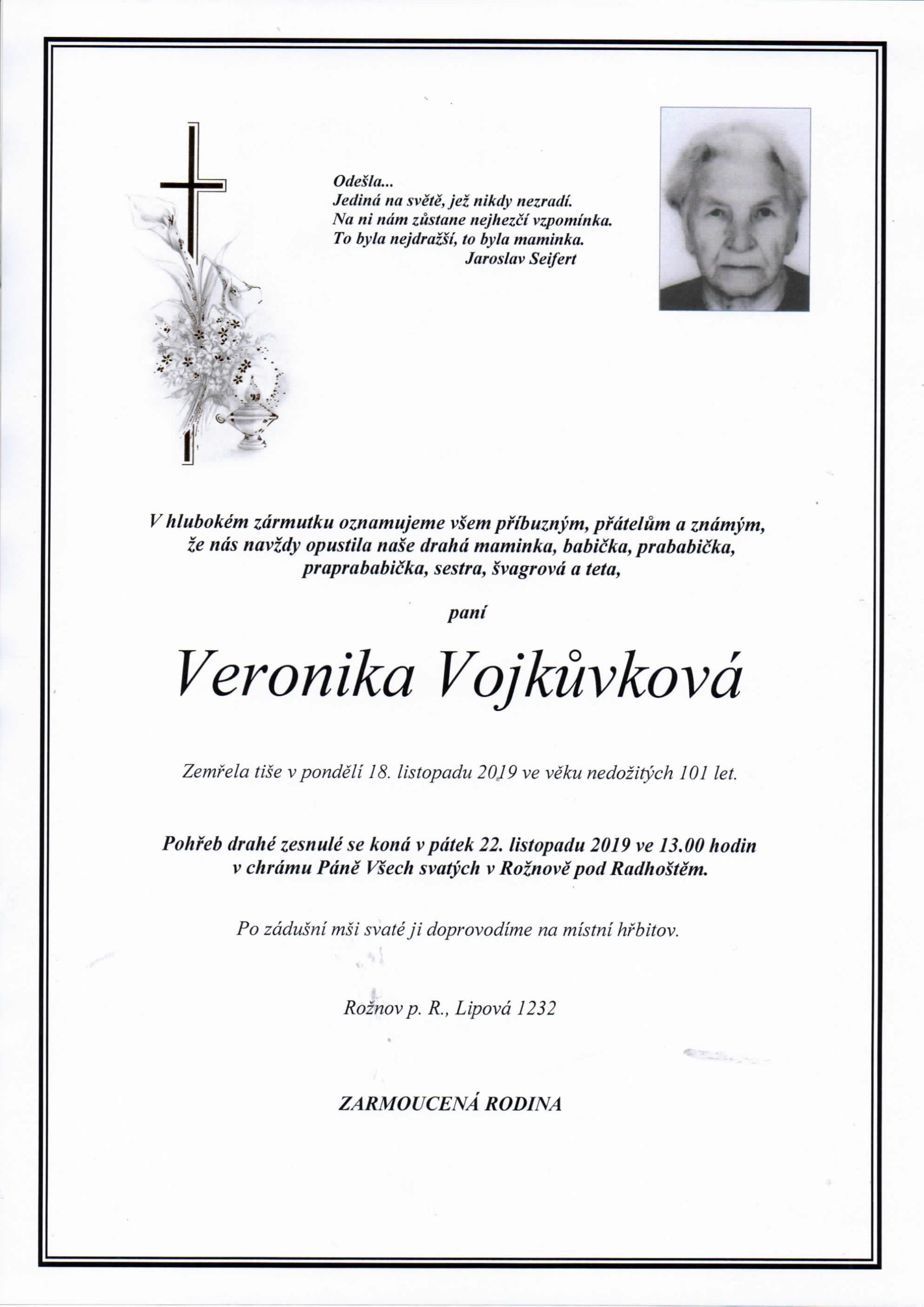Veronika Vojkůvková