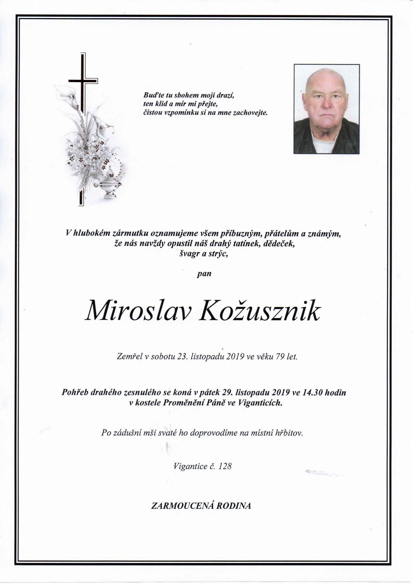 Miroslav Kožusznik
