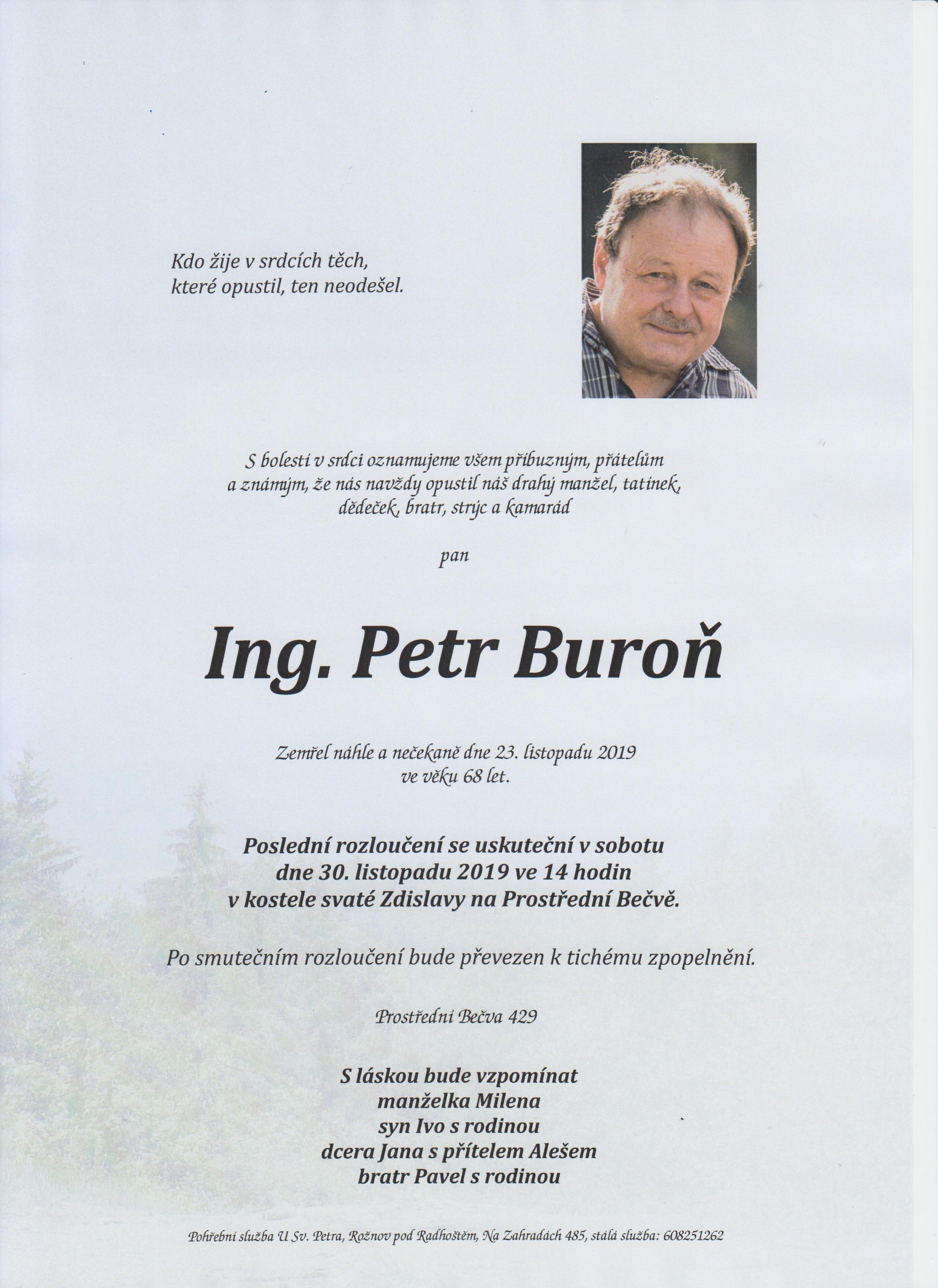 Ing. Petr Buroň