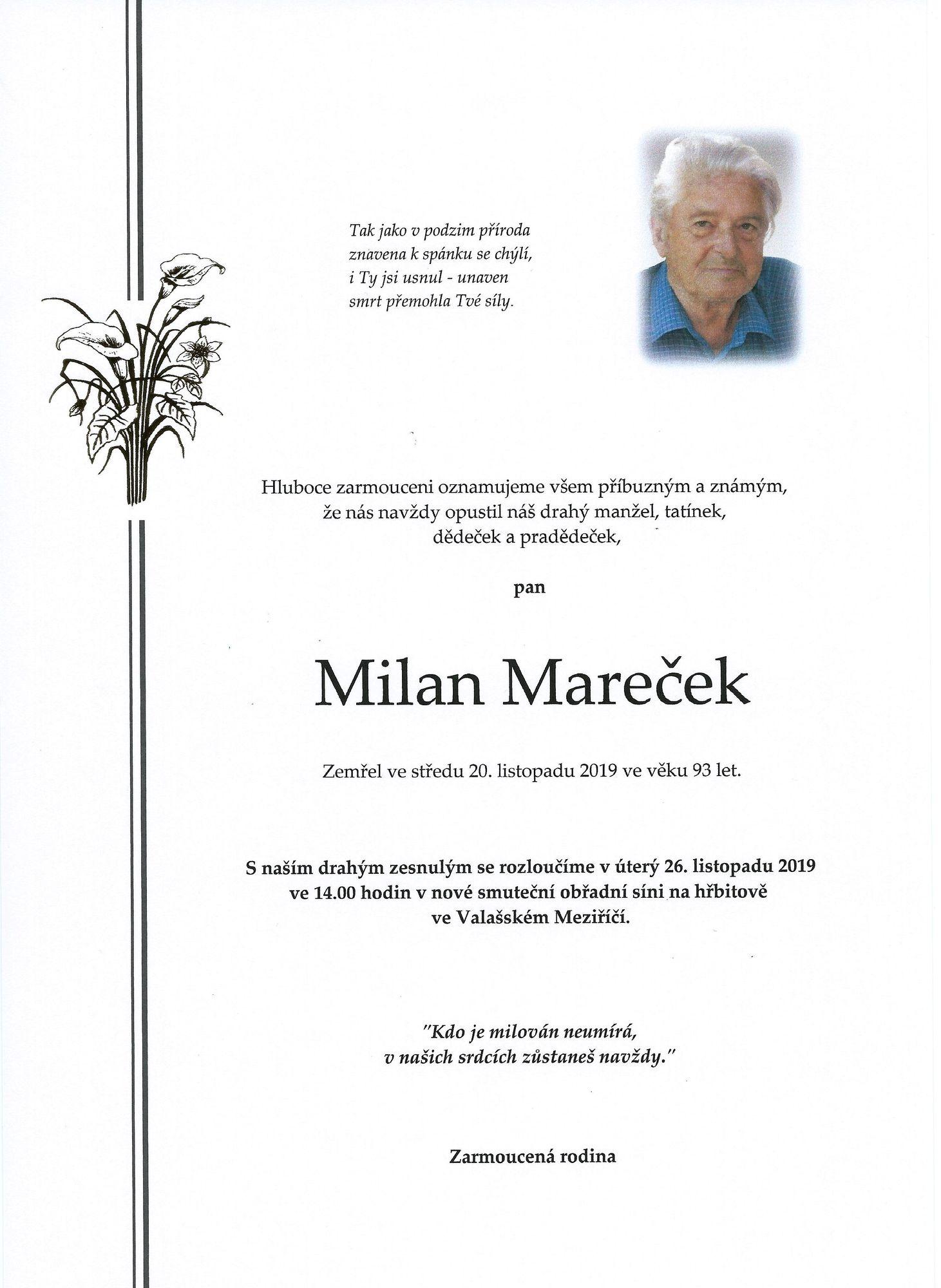 Milan Mareček