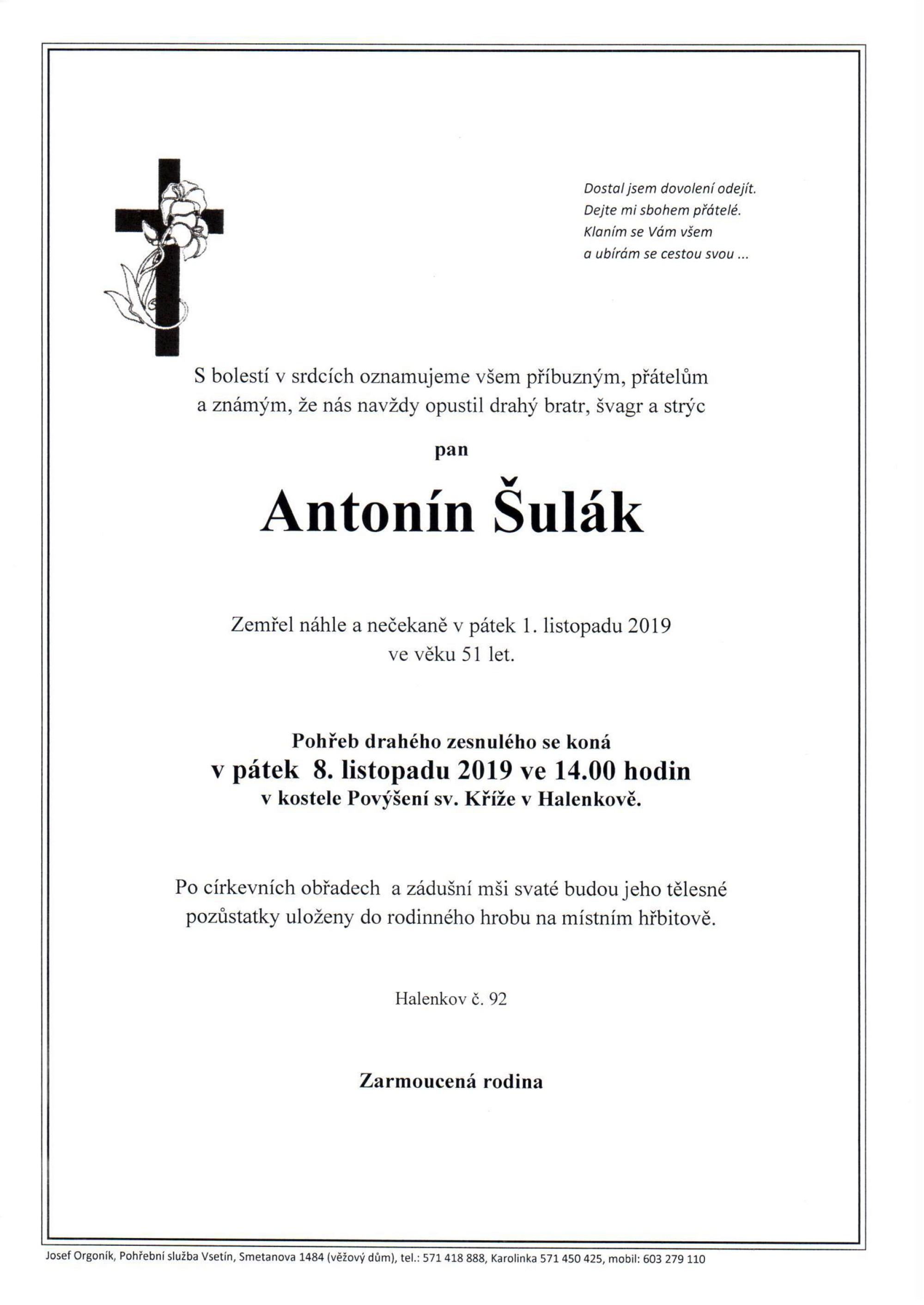 Antonín Šulák