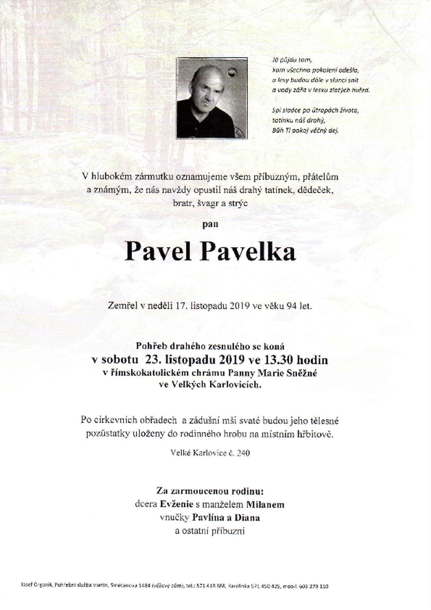 Pavel Pavelka