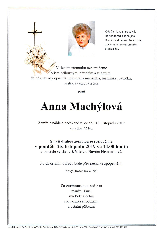 Anna Machýlová
