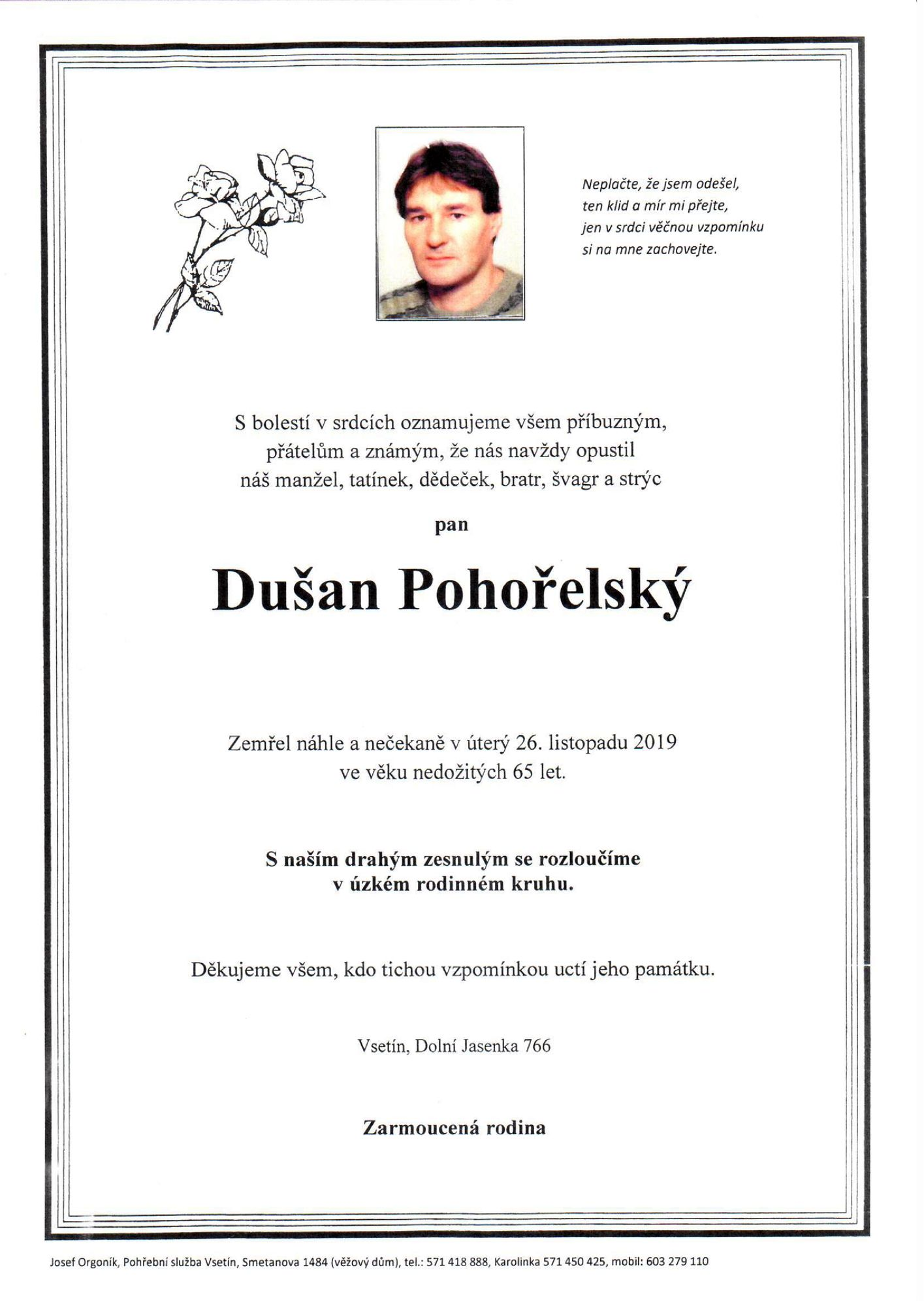 Dušan Pohořelský