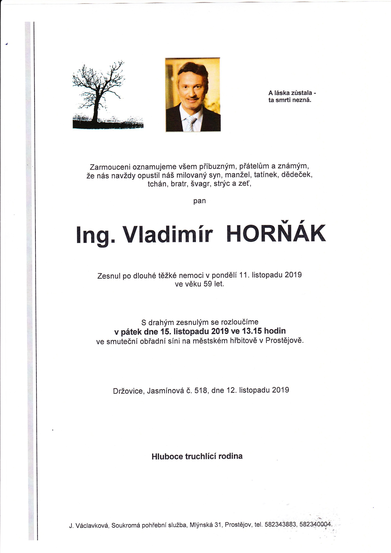 Ing. Vladimír Horňák