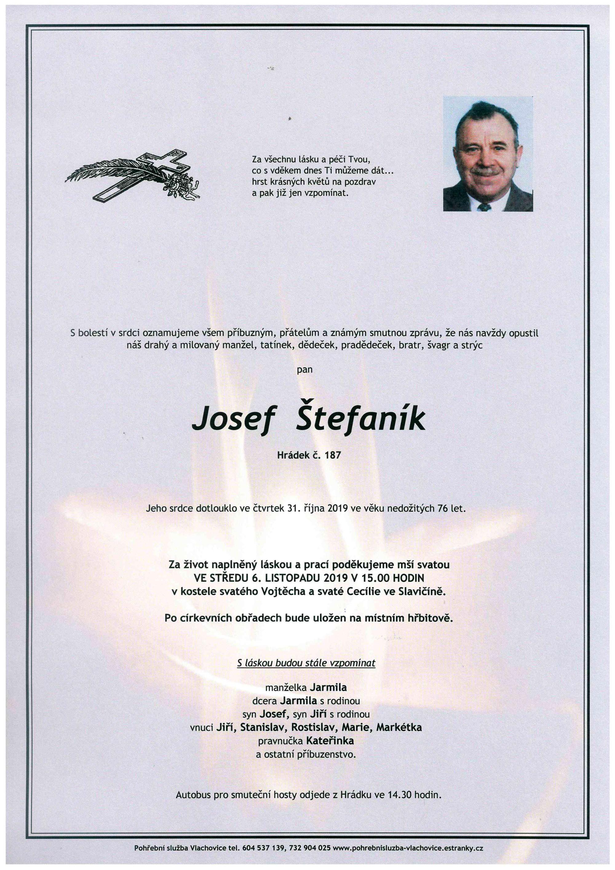 Josef Štefaník
