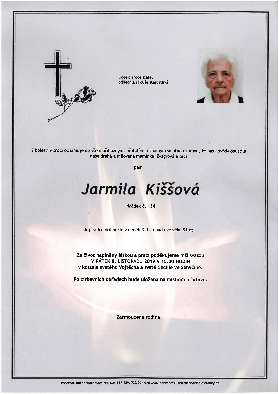 Jarmila Kiššová