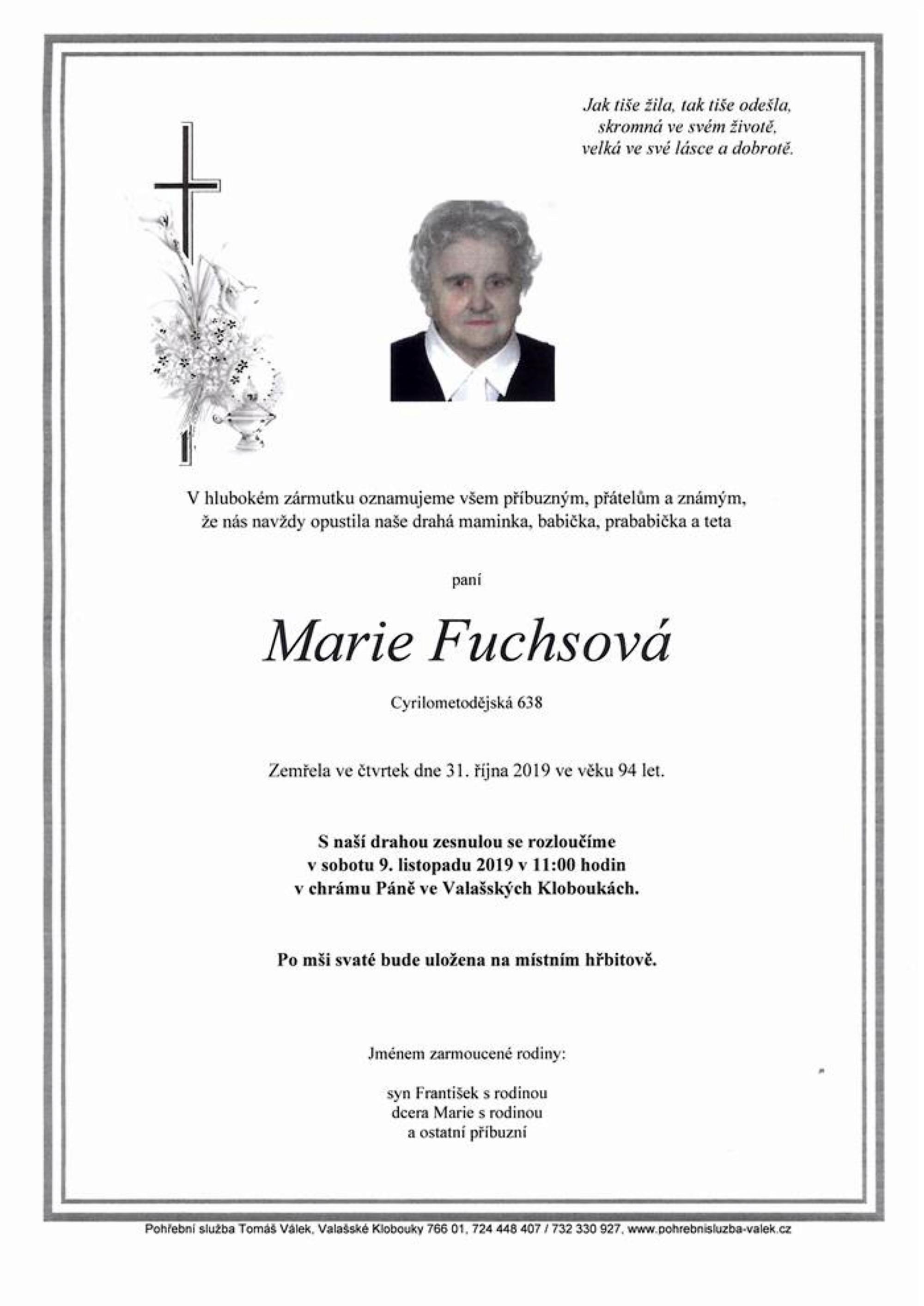 Marie Fuchsová