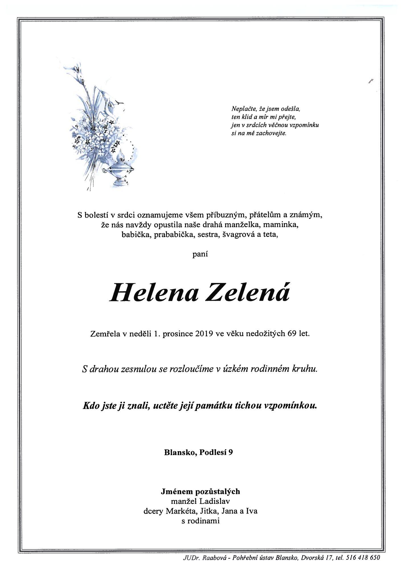 Helena Zelená