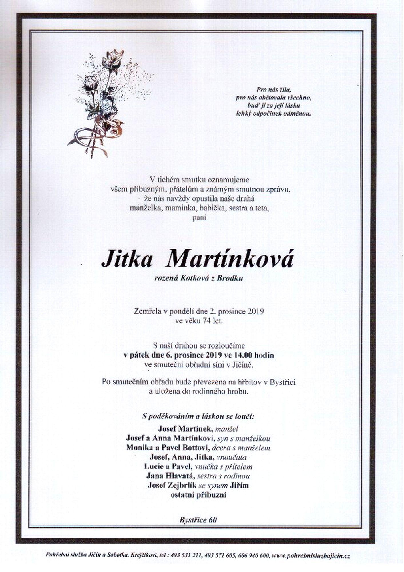 Jitka Martínková