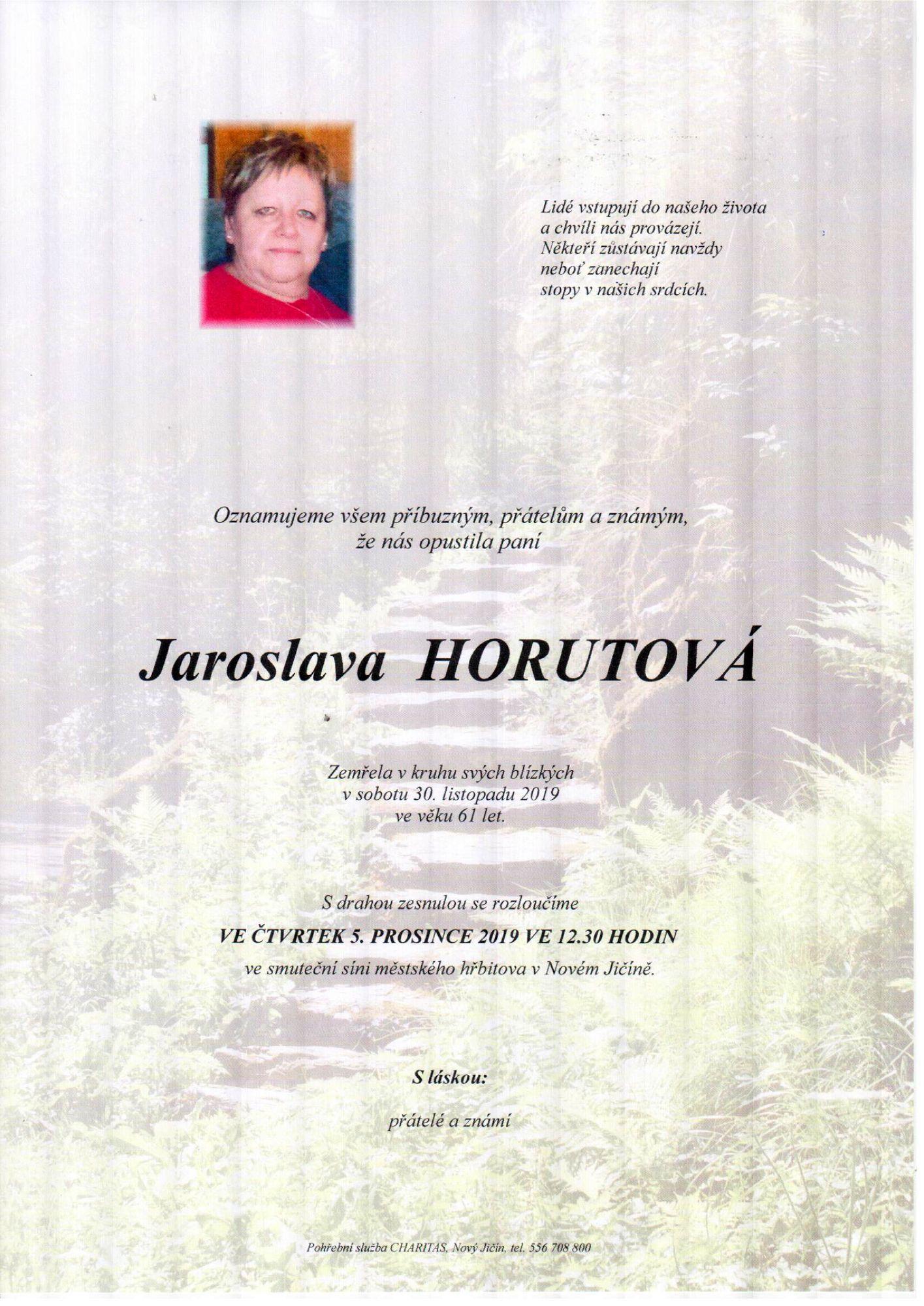 Jaroslava Horutová
