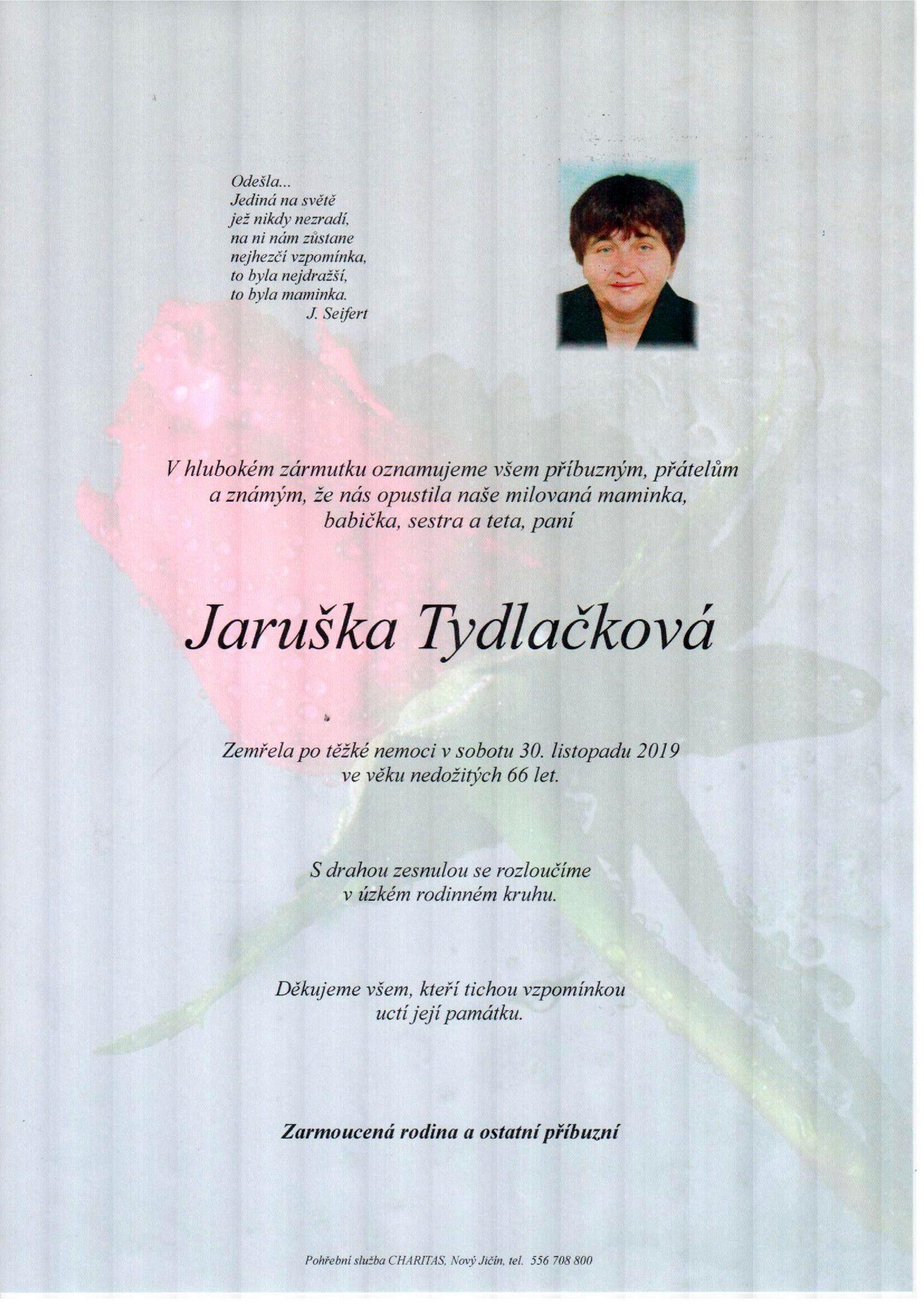 Jaruška Tydlačková