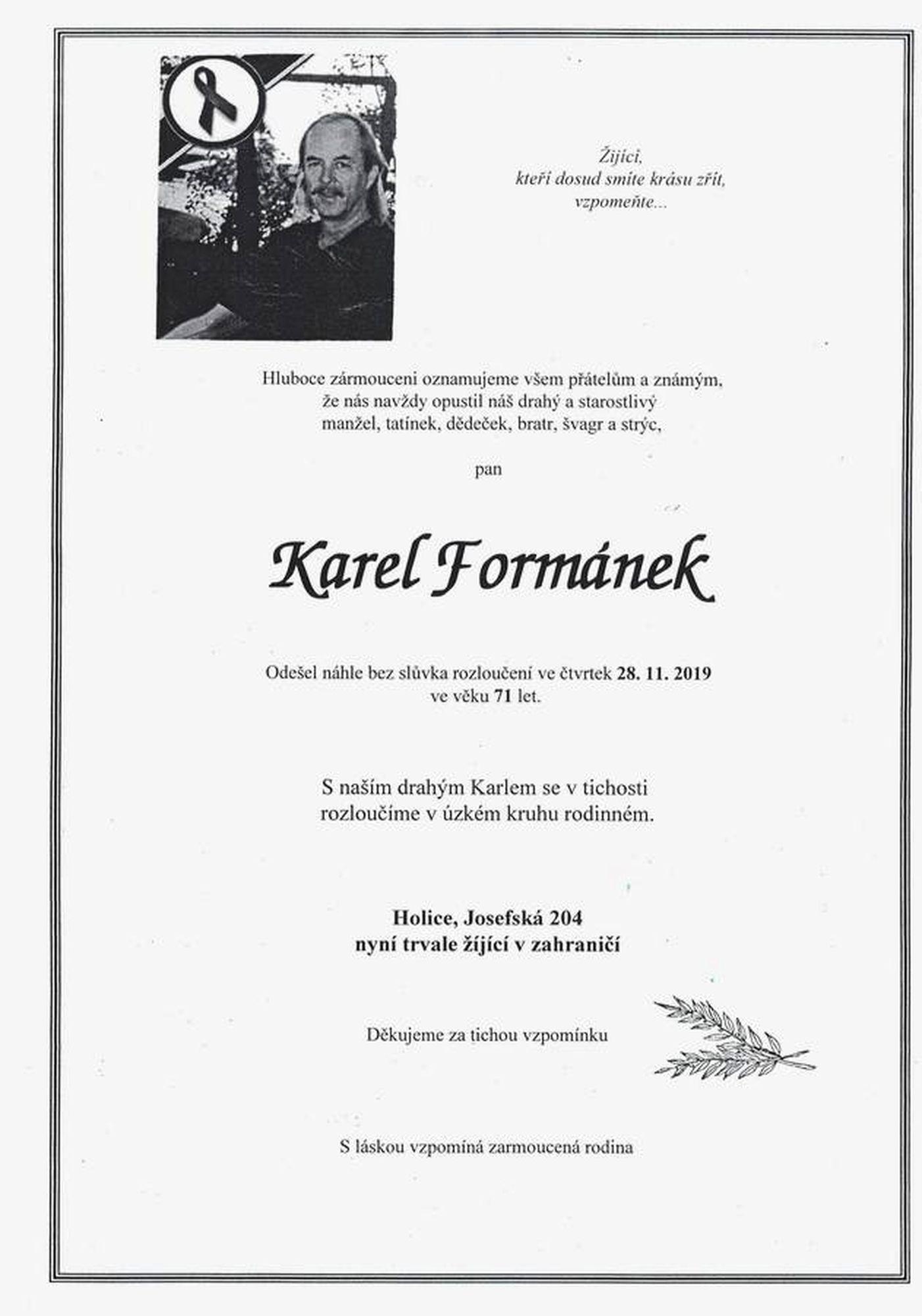 Karel Formánek