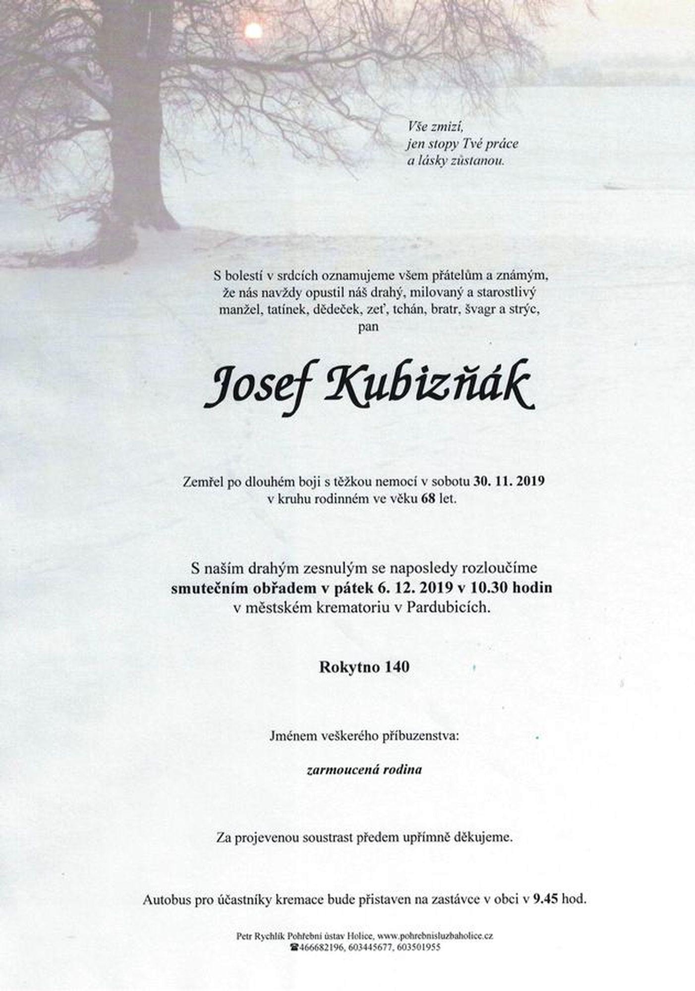 Josef Kubizňák
