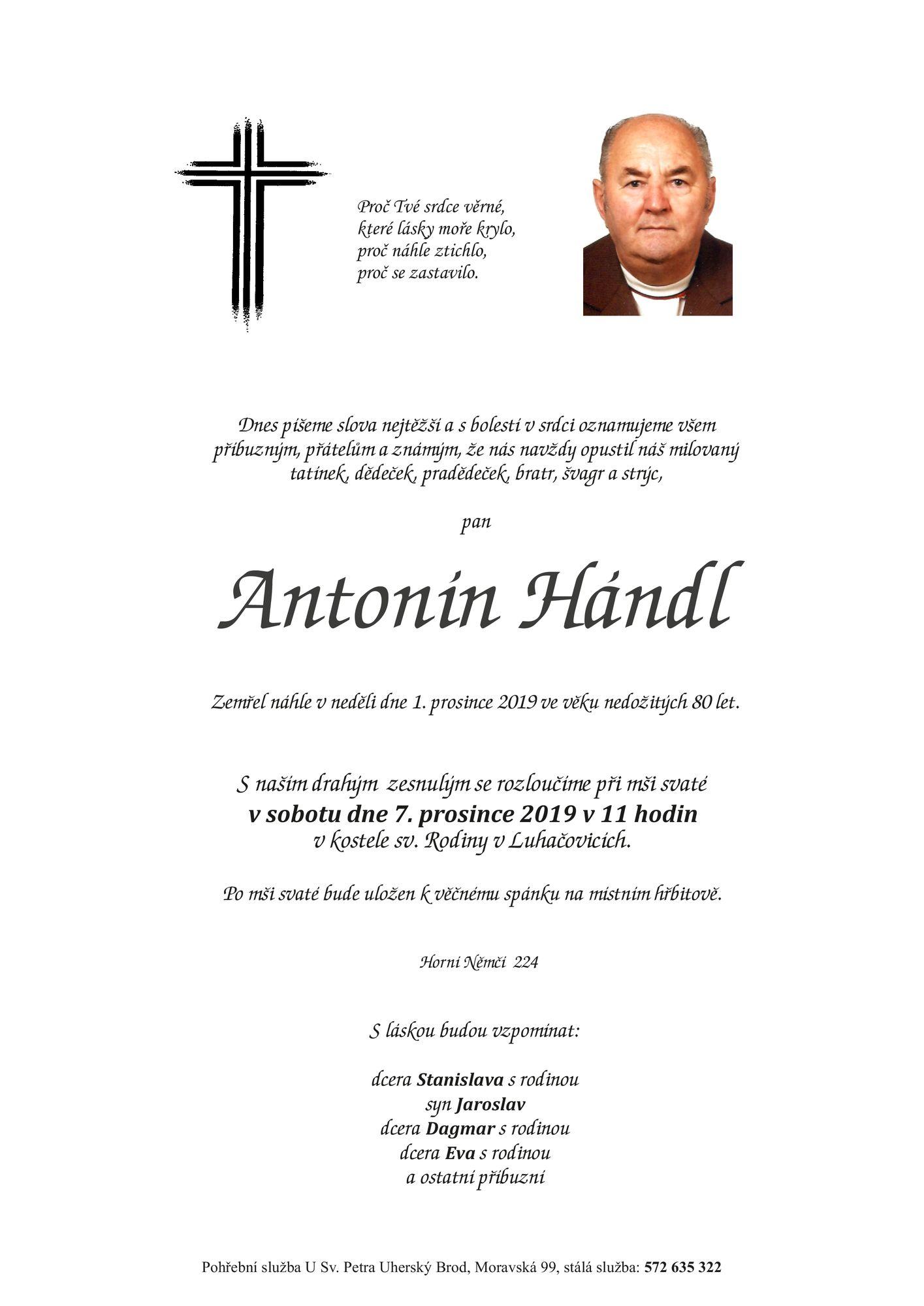 Antonín Hándl