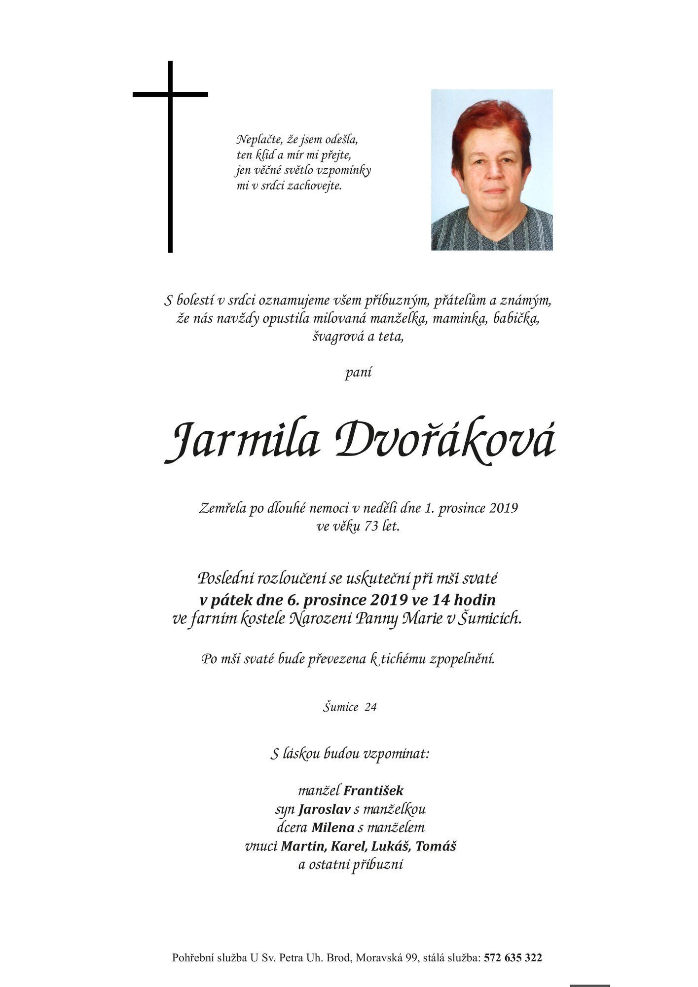 Jarmila Dvořáková
