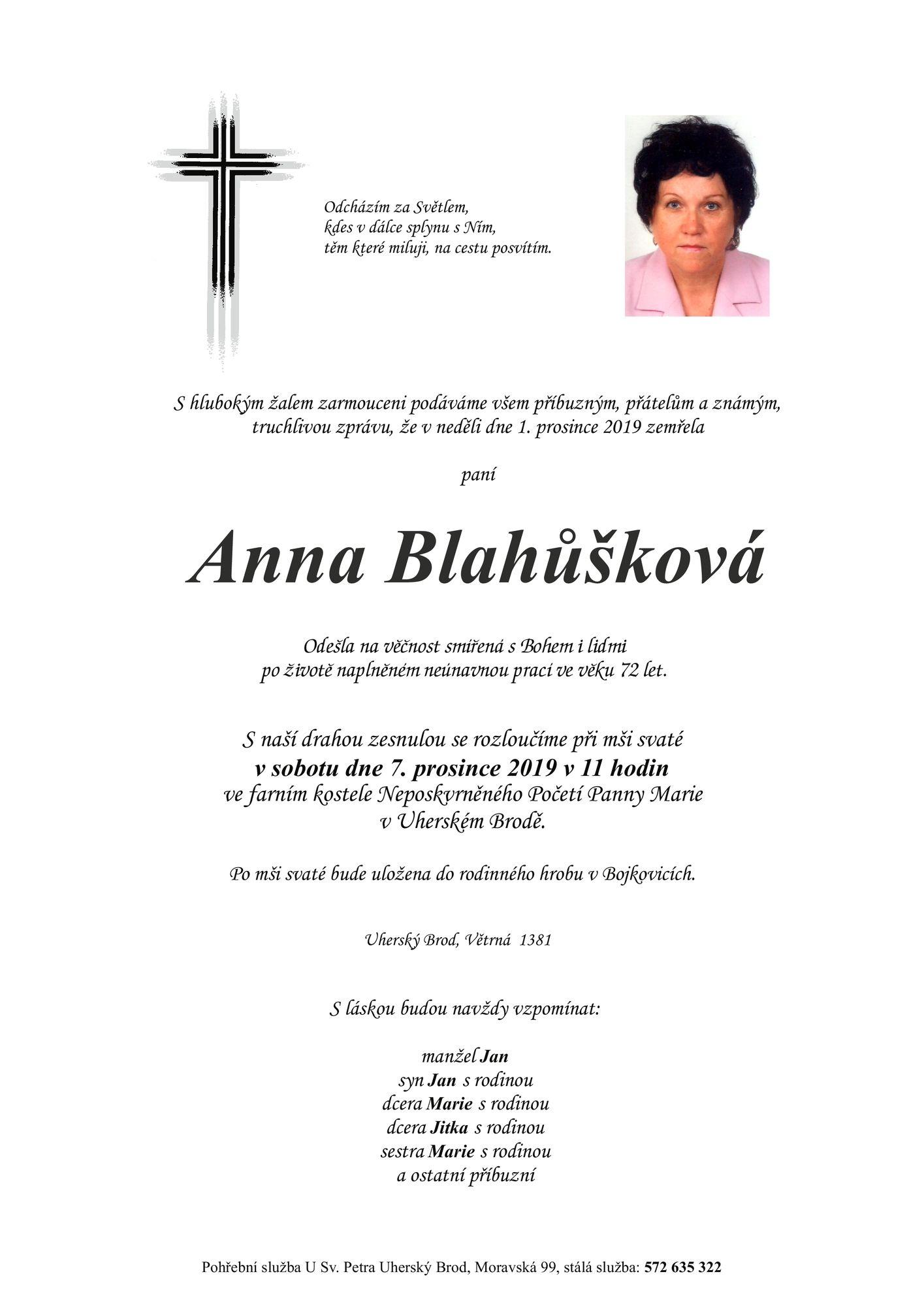 Anna Blahůšková