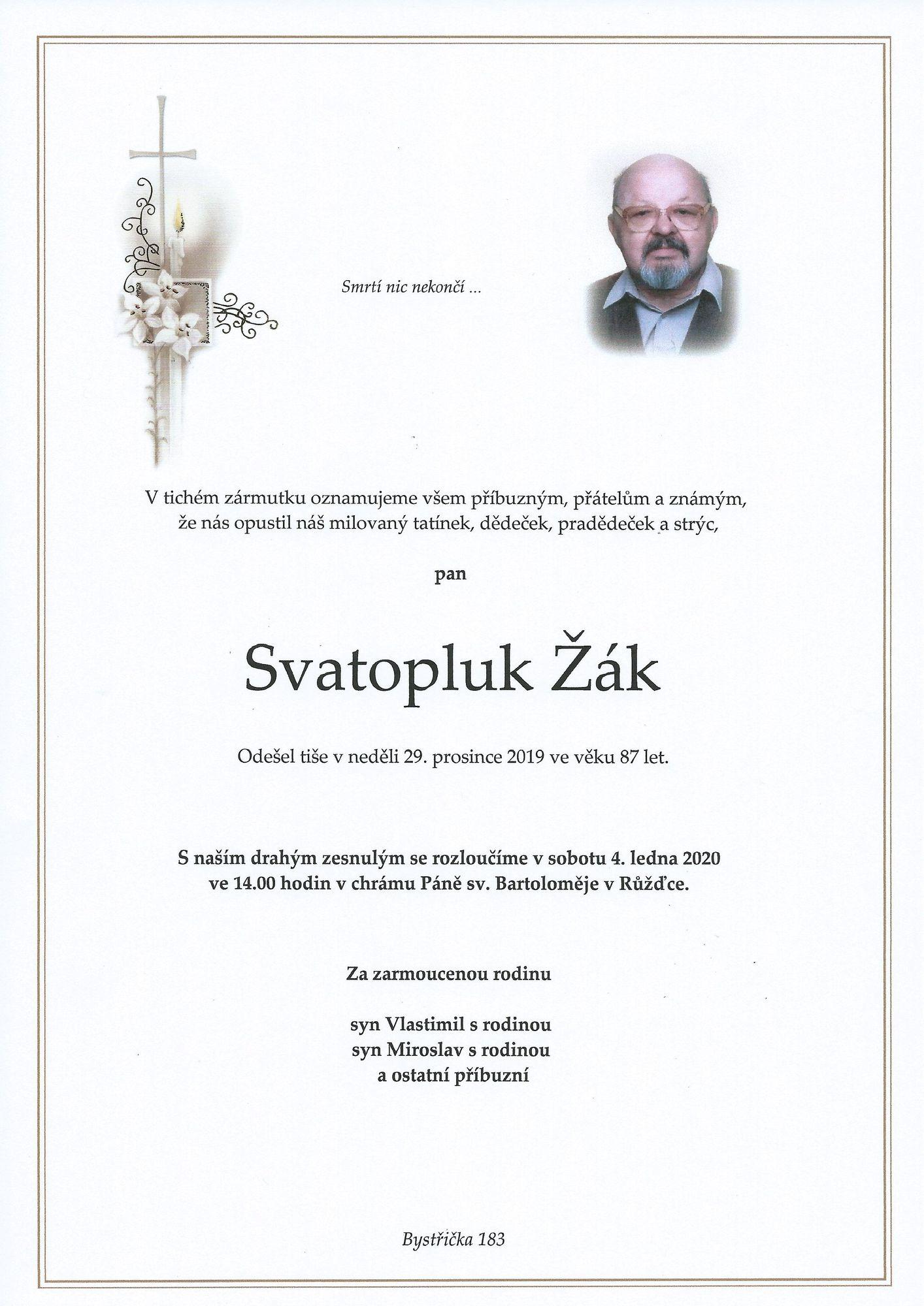 Svatopluk Žák