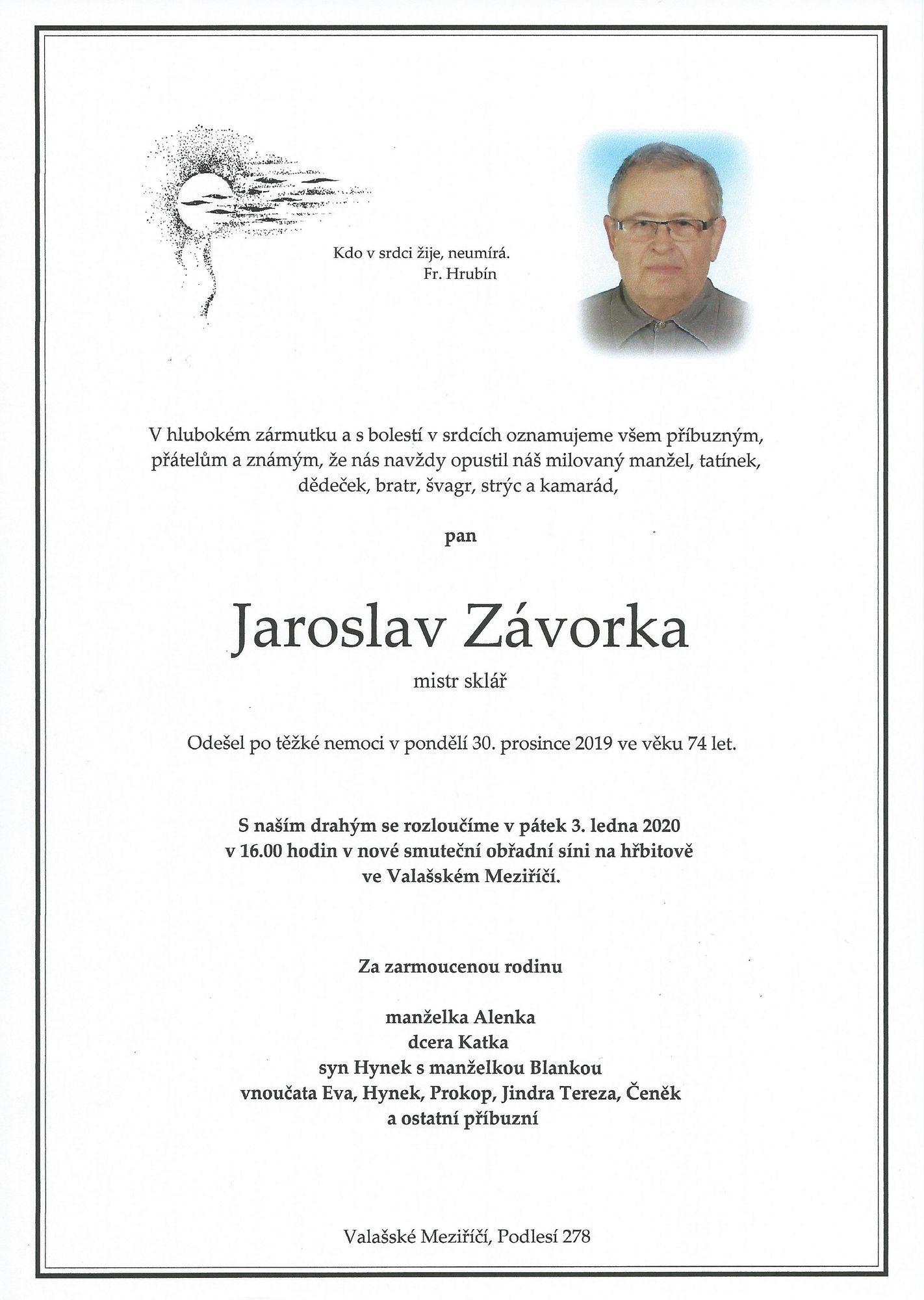 Jaroslav Závorka