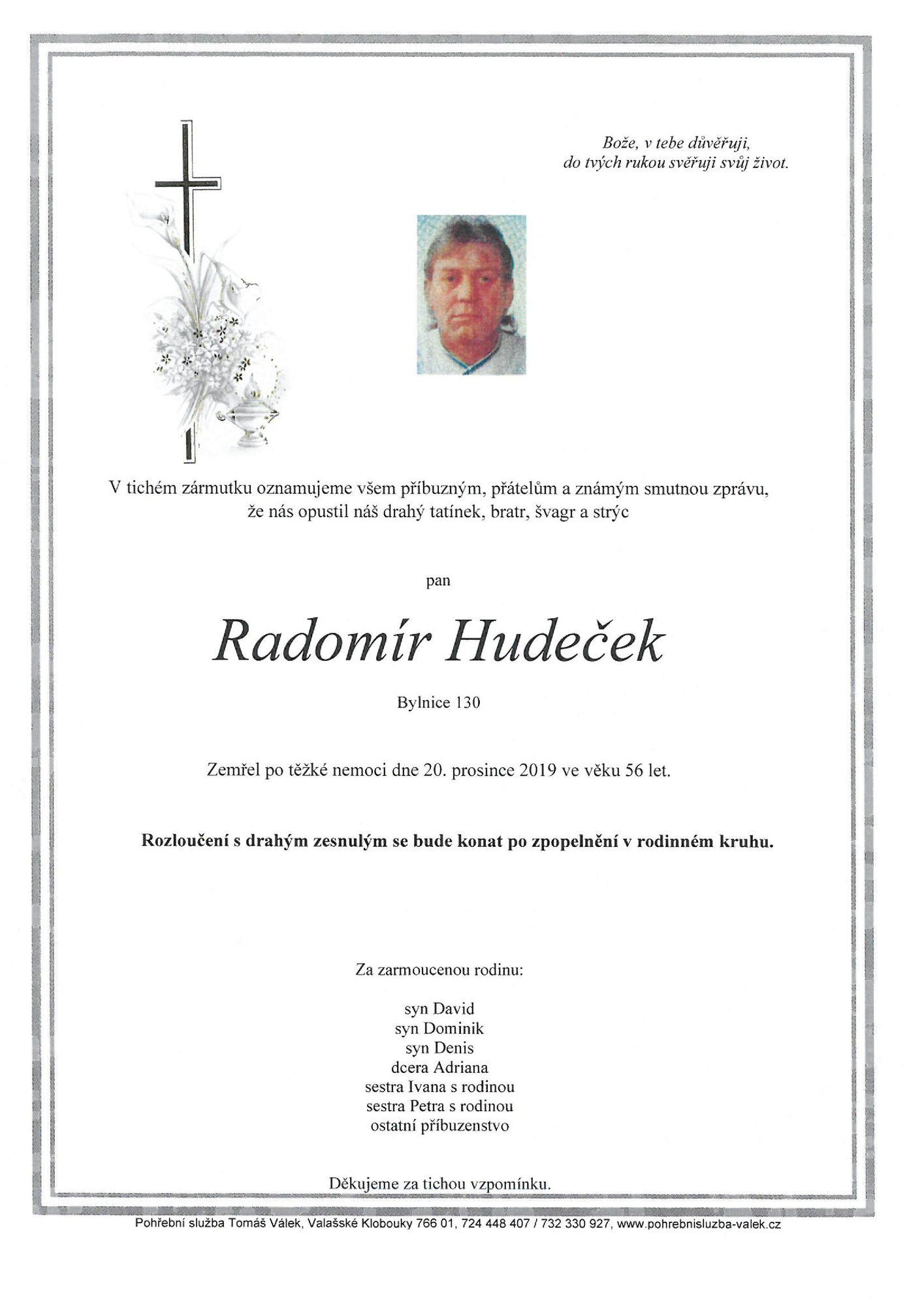 Radomír Hudeček