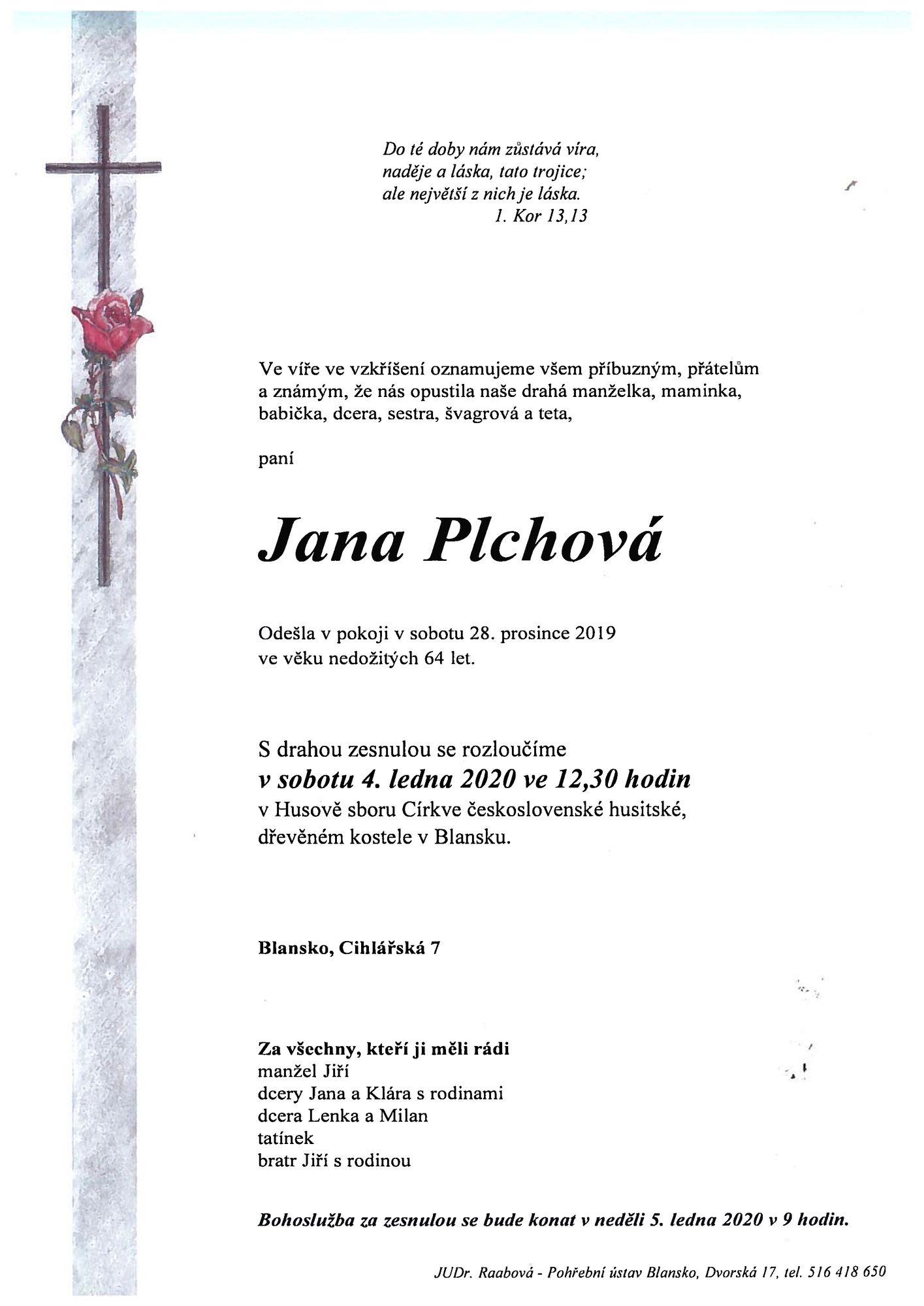 Jana Plchová