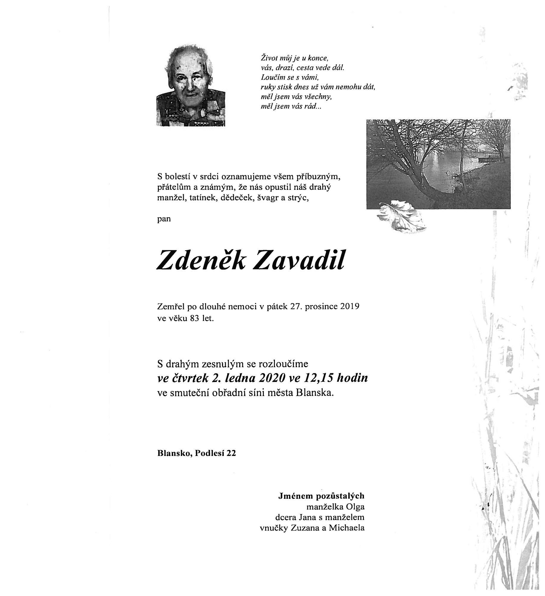 Zdeněk Zavadil