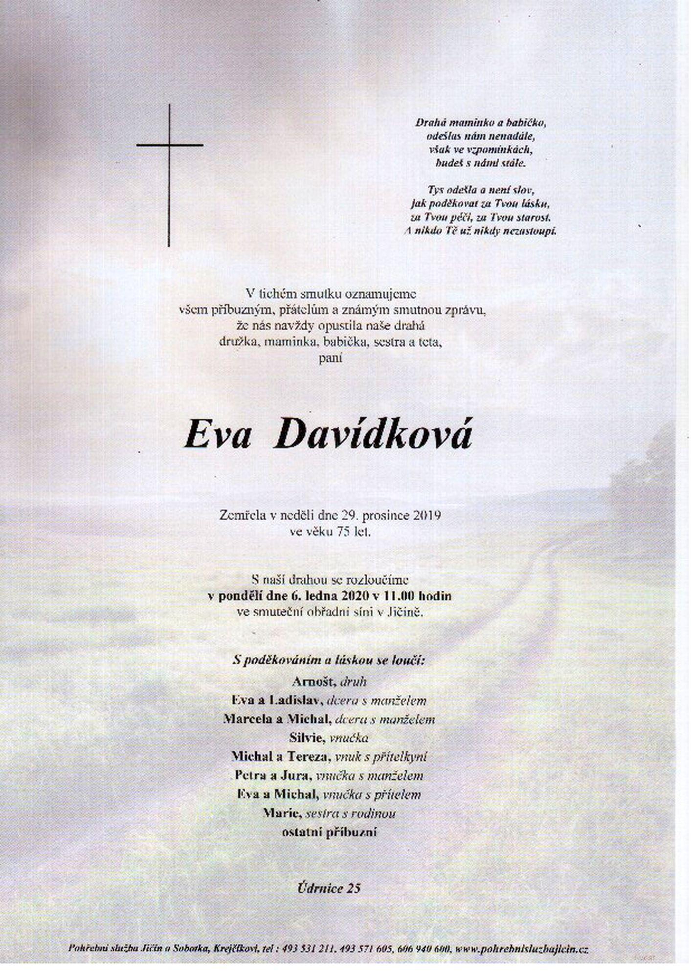 Eva Davídková