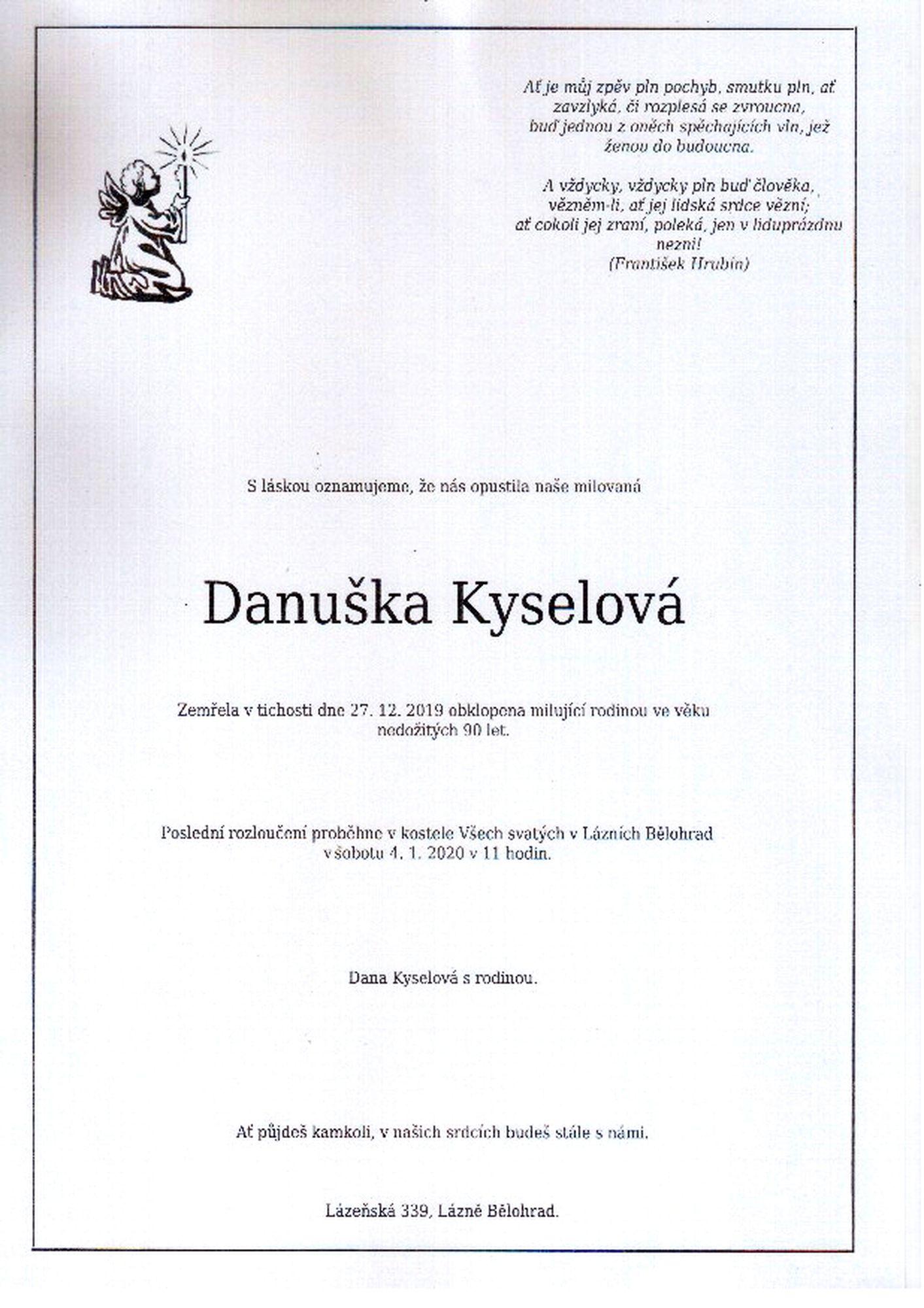 Danuška Kyselová