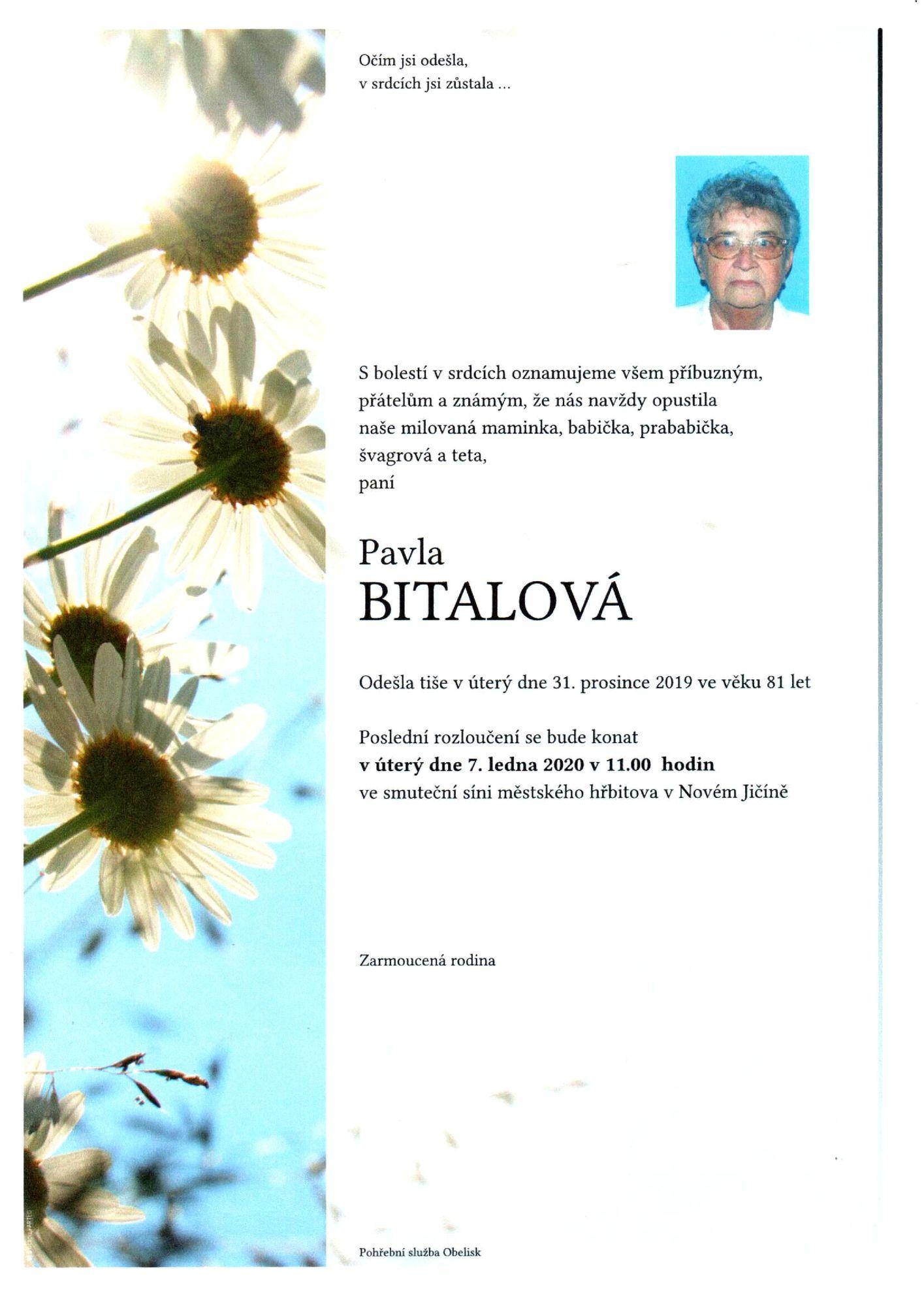 Pavla Bitalová